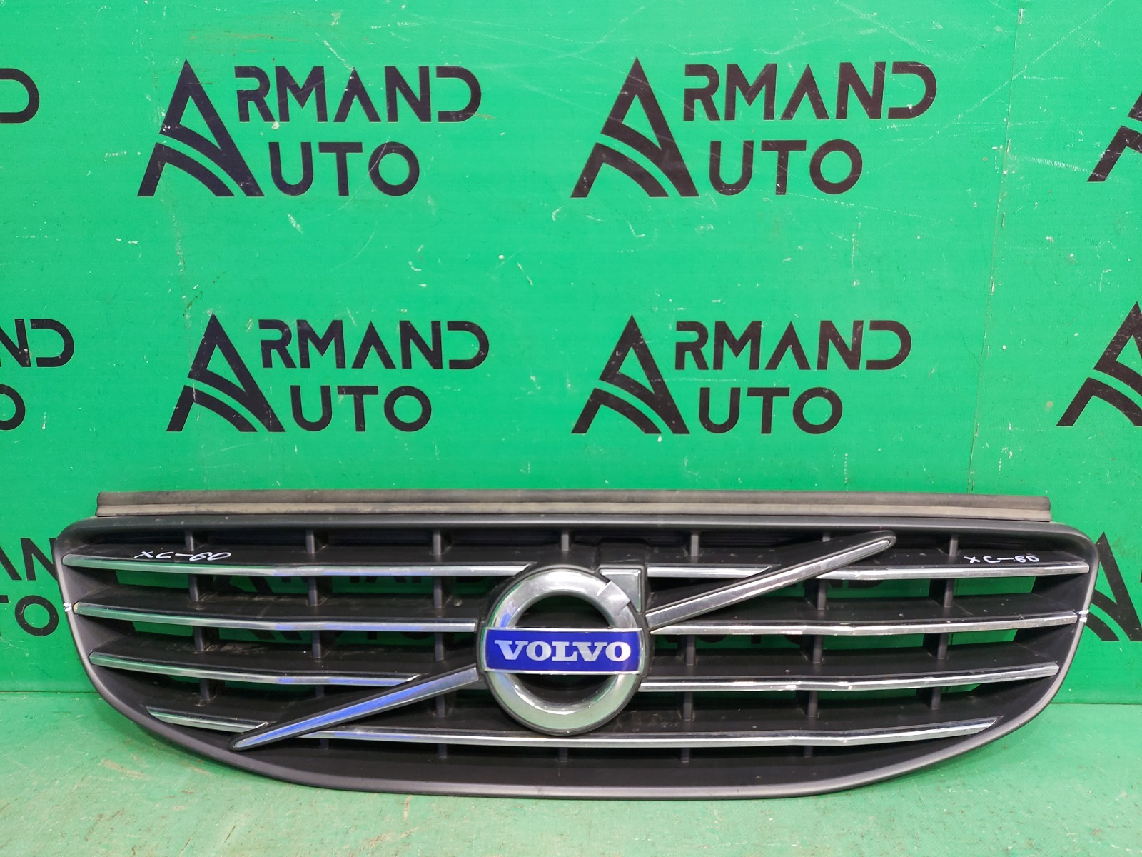 Решетка радиатора Volvo Xc60 1 РЕСТАЙЛИНГ 2013 (б/у)