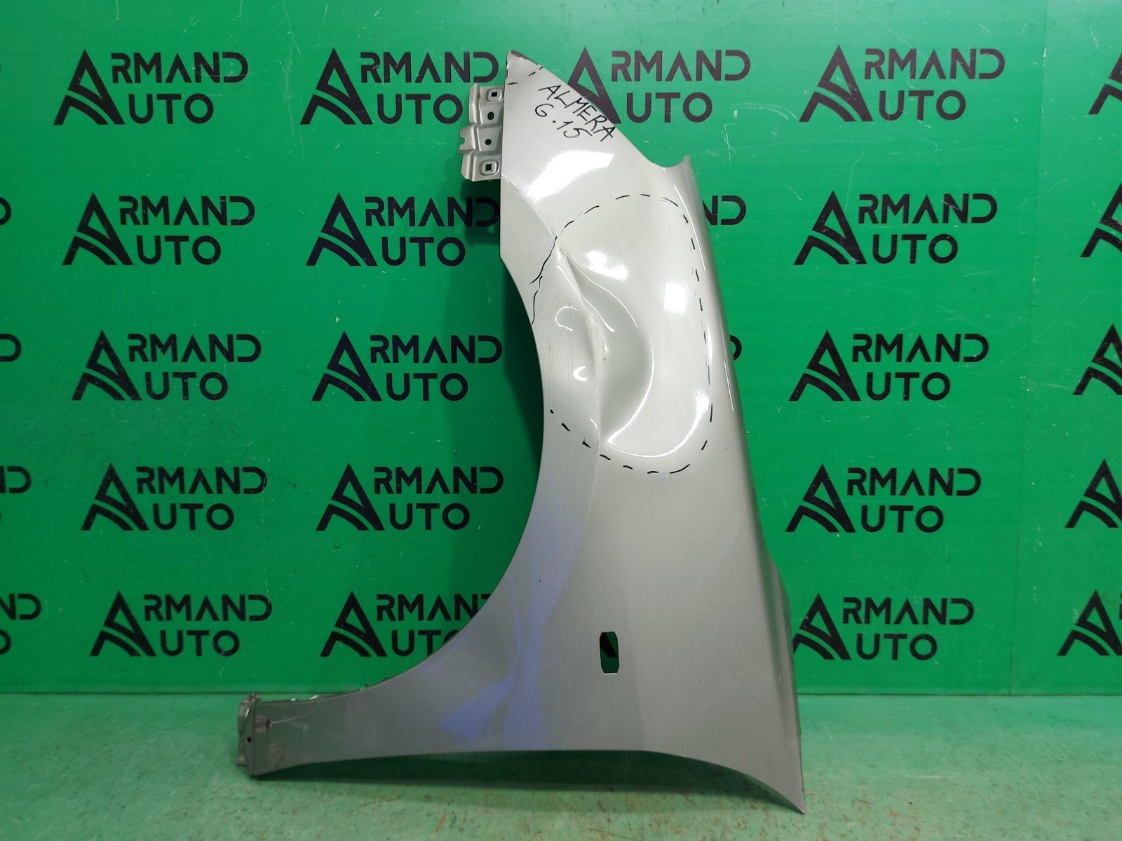 Крыло Nissan Almera G15 2012 переднее левое (б/у)