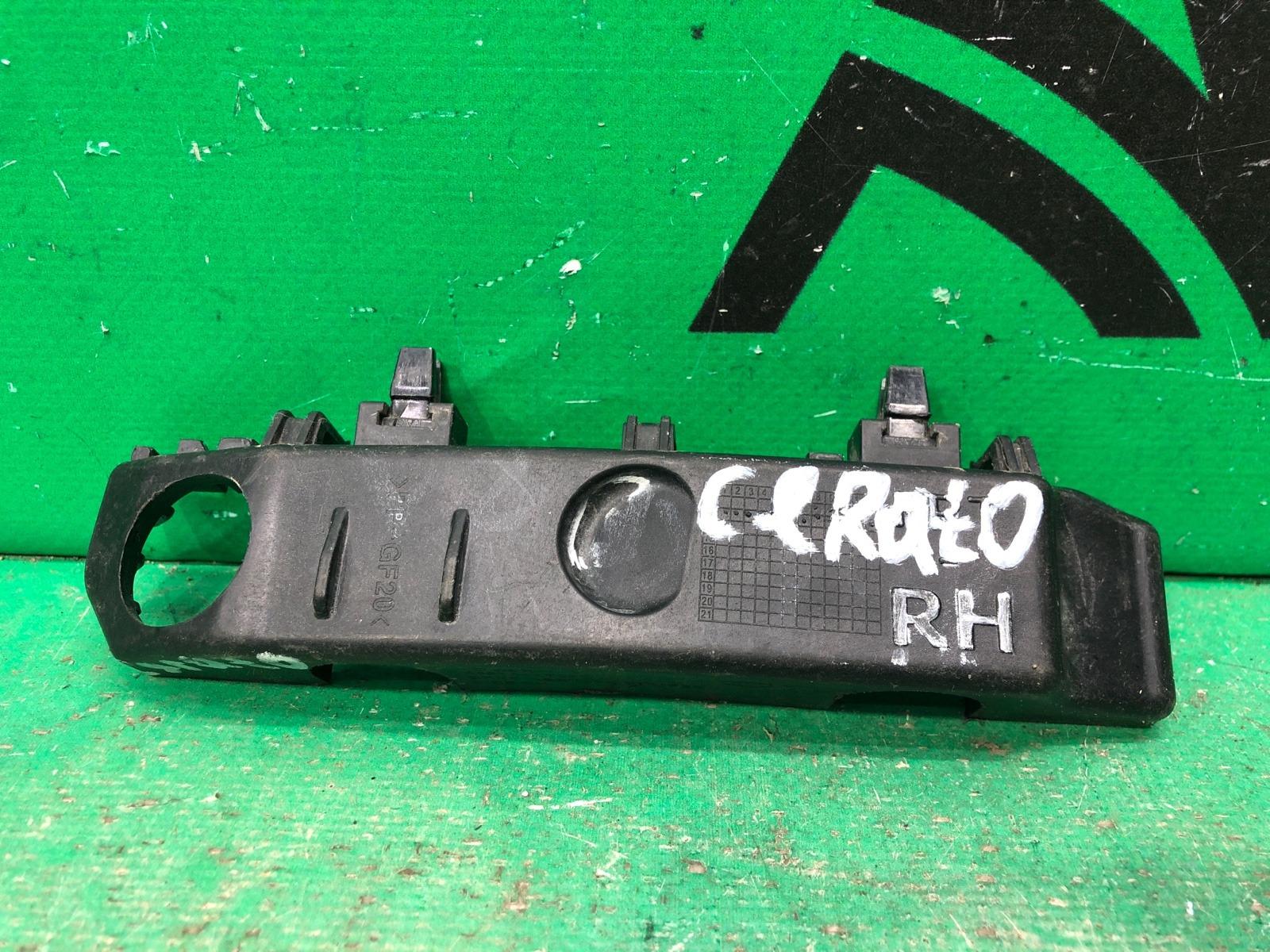 Кронштейн бампера Kia Cerato 3 2013 передний правый (б/у)