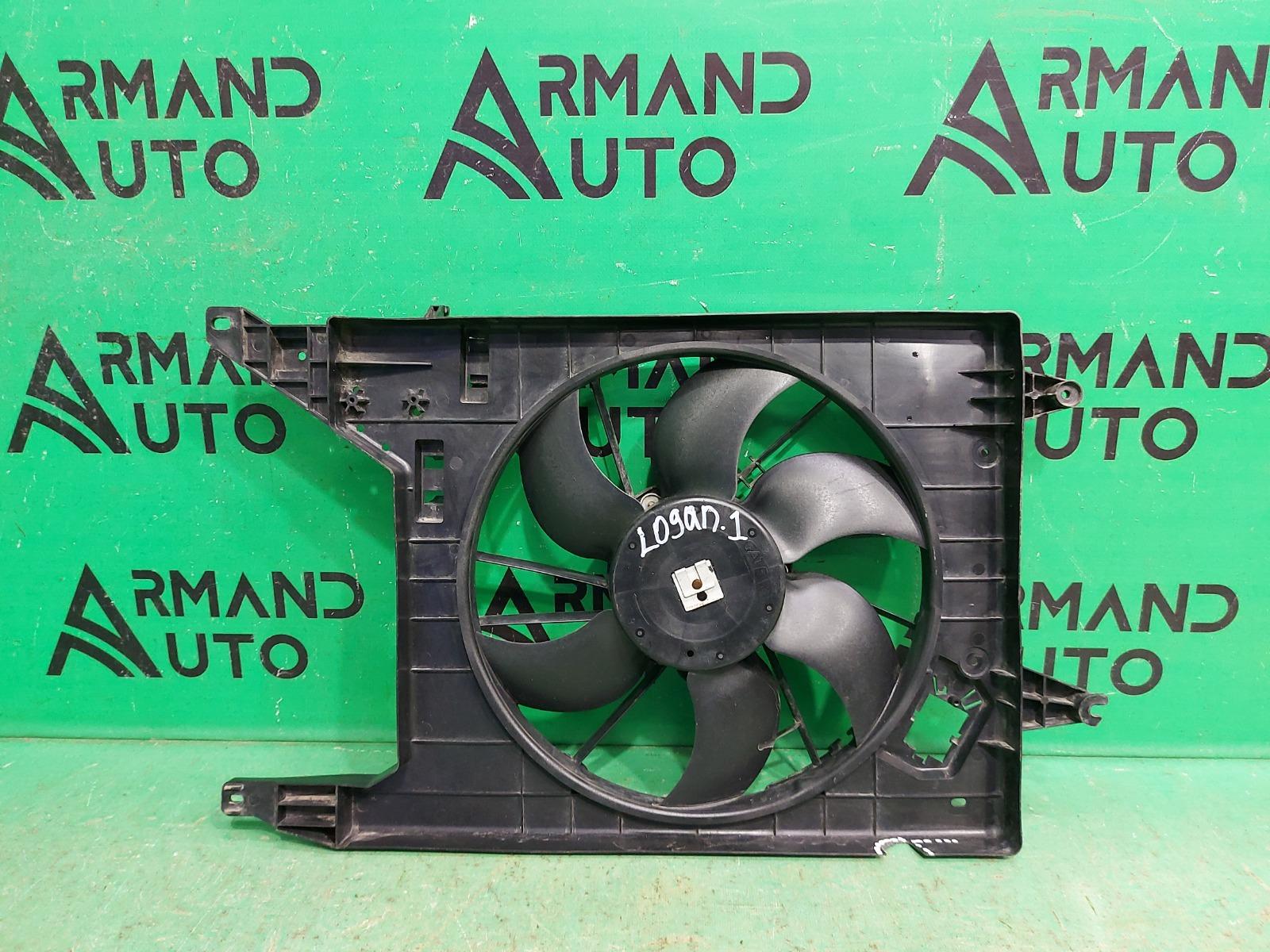 Диффузор вентилятора Renault Logan 1 2004 (б/у)
