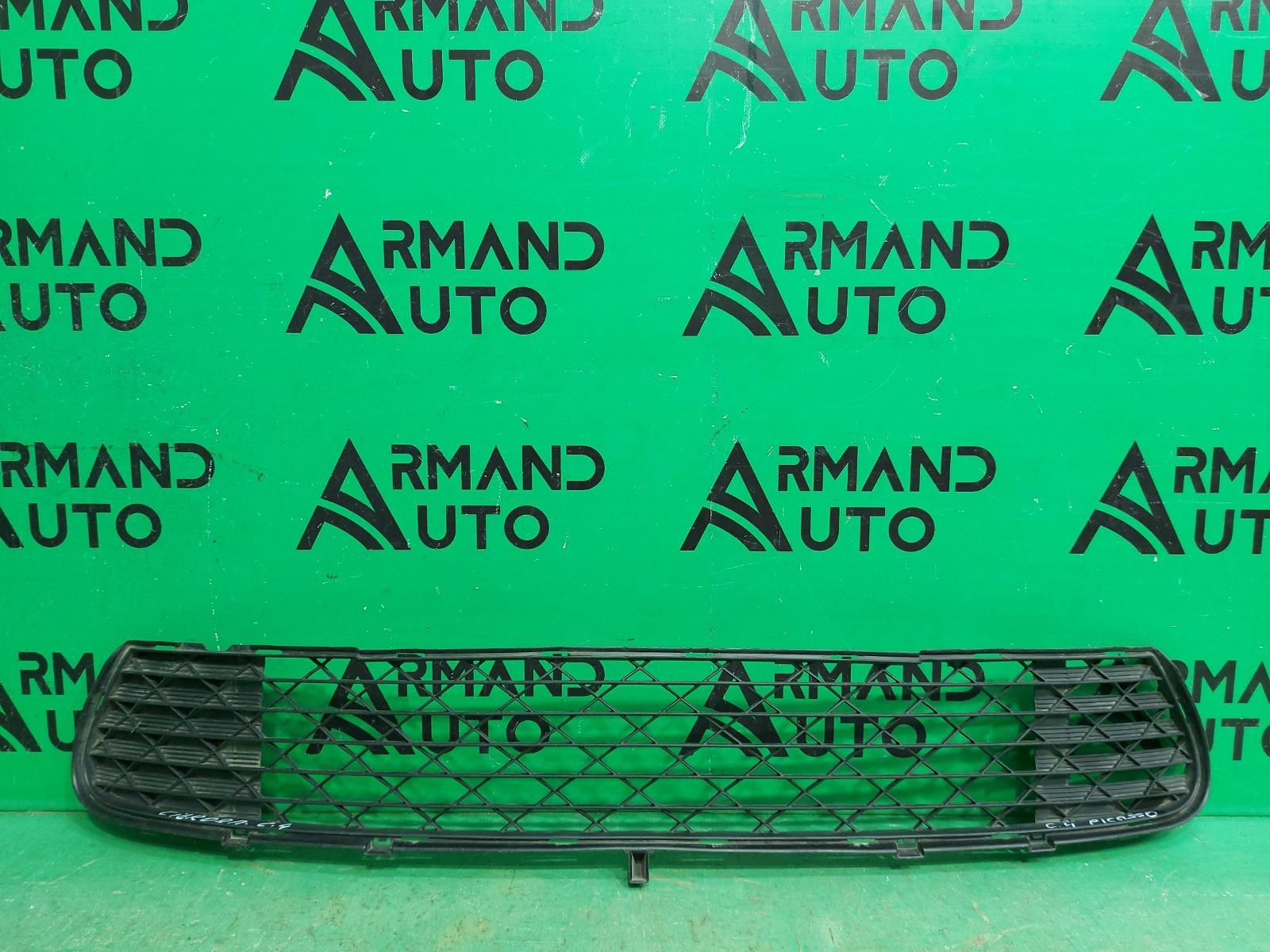 Решетка бампера Citroen C4 Picasso 1 2006 передняя нижняя (б/у)