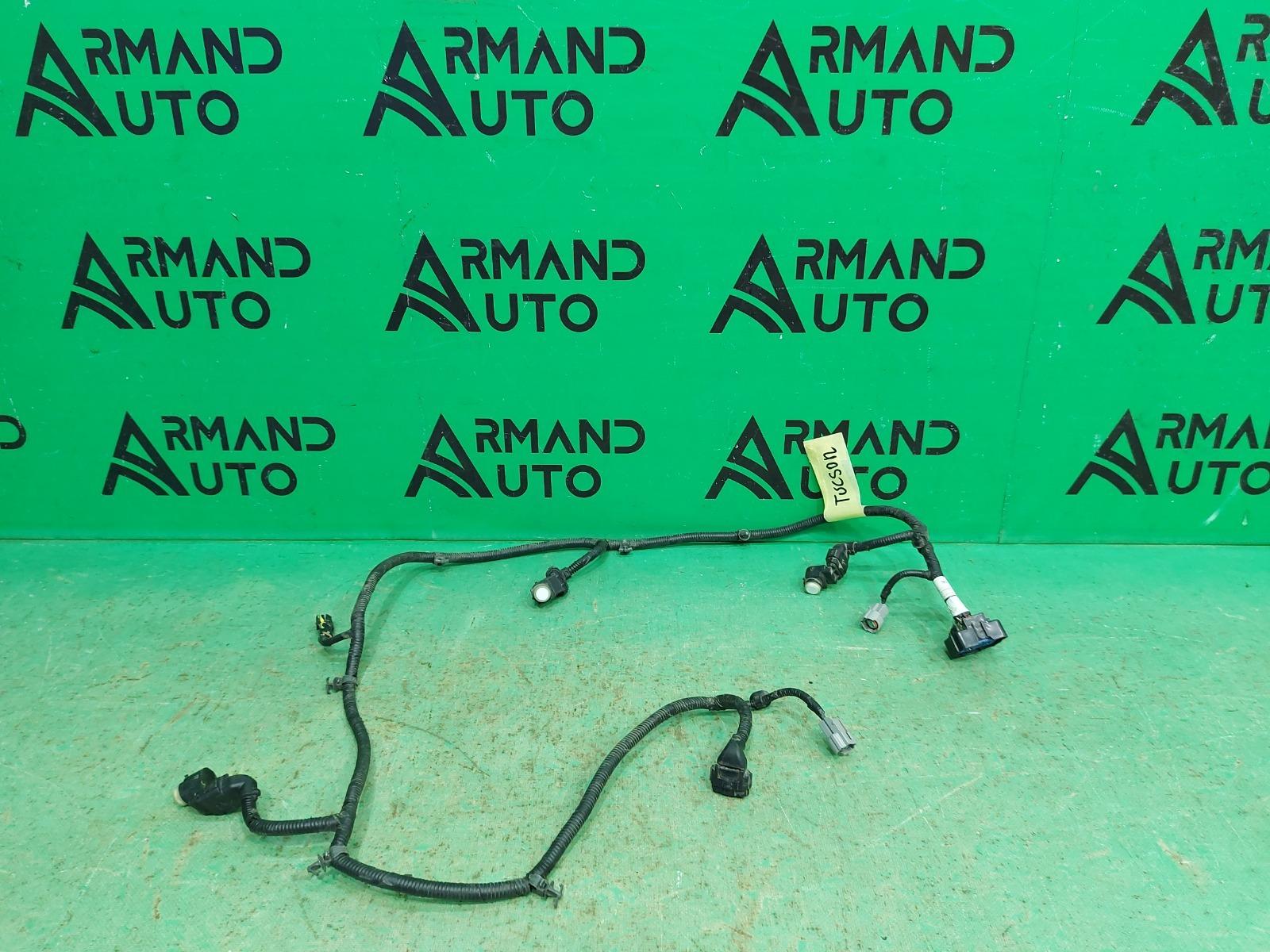 Проводка бампера Hyundai Tucson 3 2015 задняя (б/у)