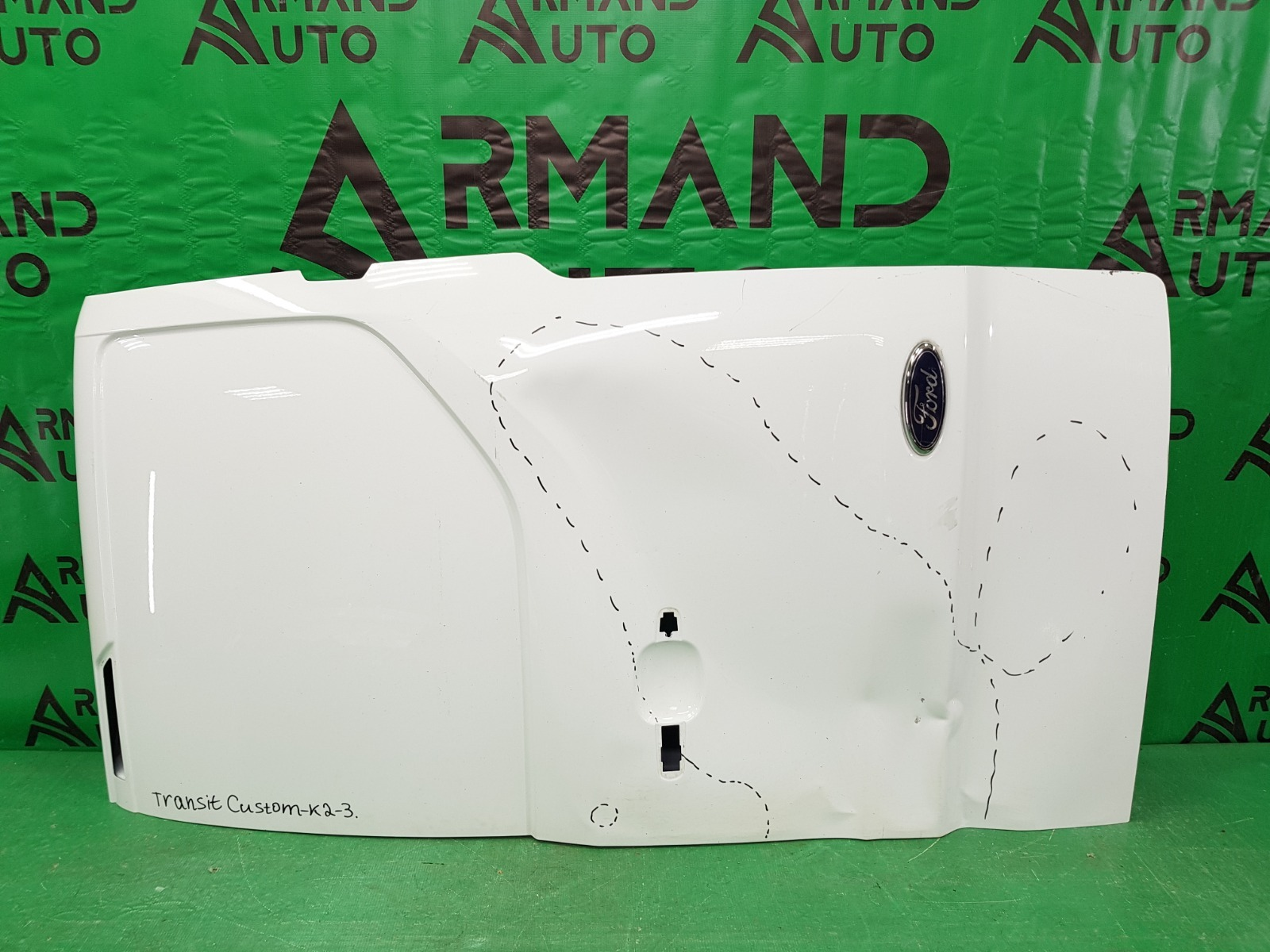 Дверь багажника Ford Transit Custom 2 2013 правая (б/у)