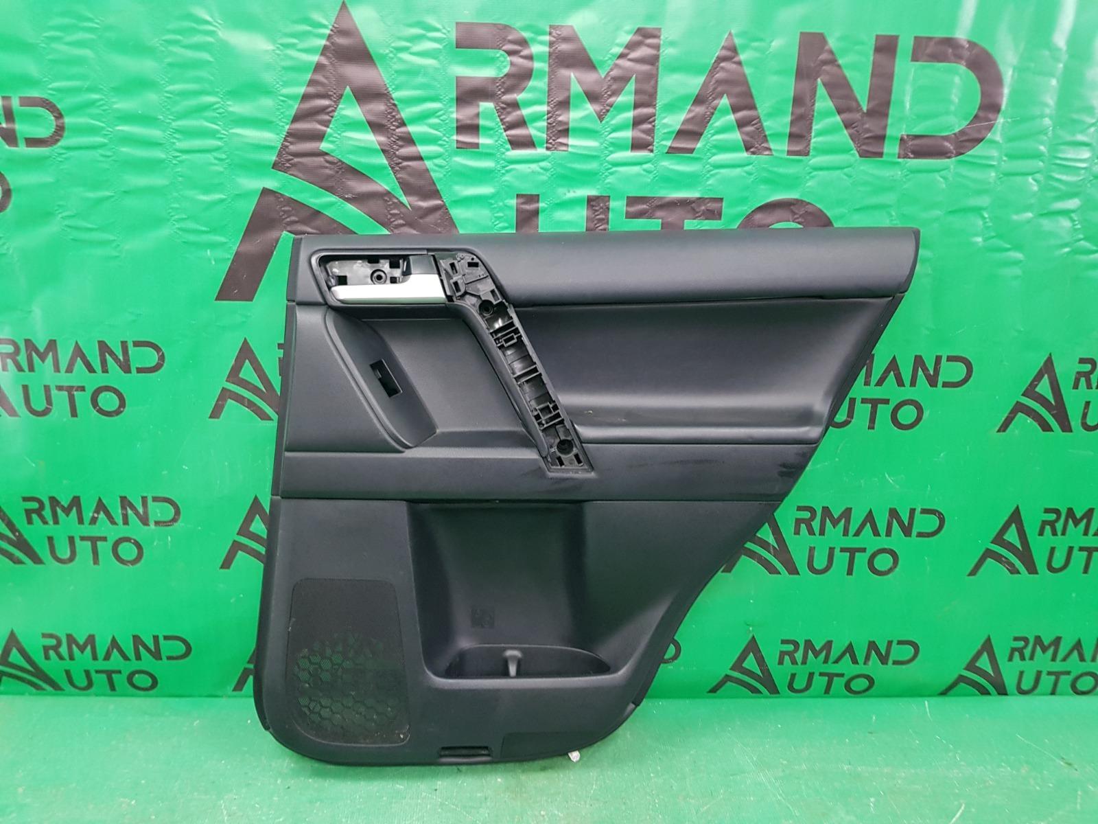 Обшивка двери Toyota Land Cruiser Prado 150 2009 задняя правая (б/у)