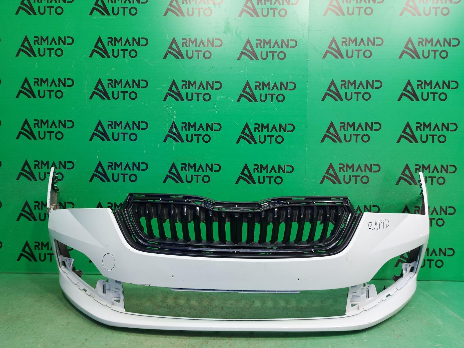 Бампер Skoda Rapid 2 2020 передний (б/у)