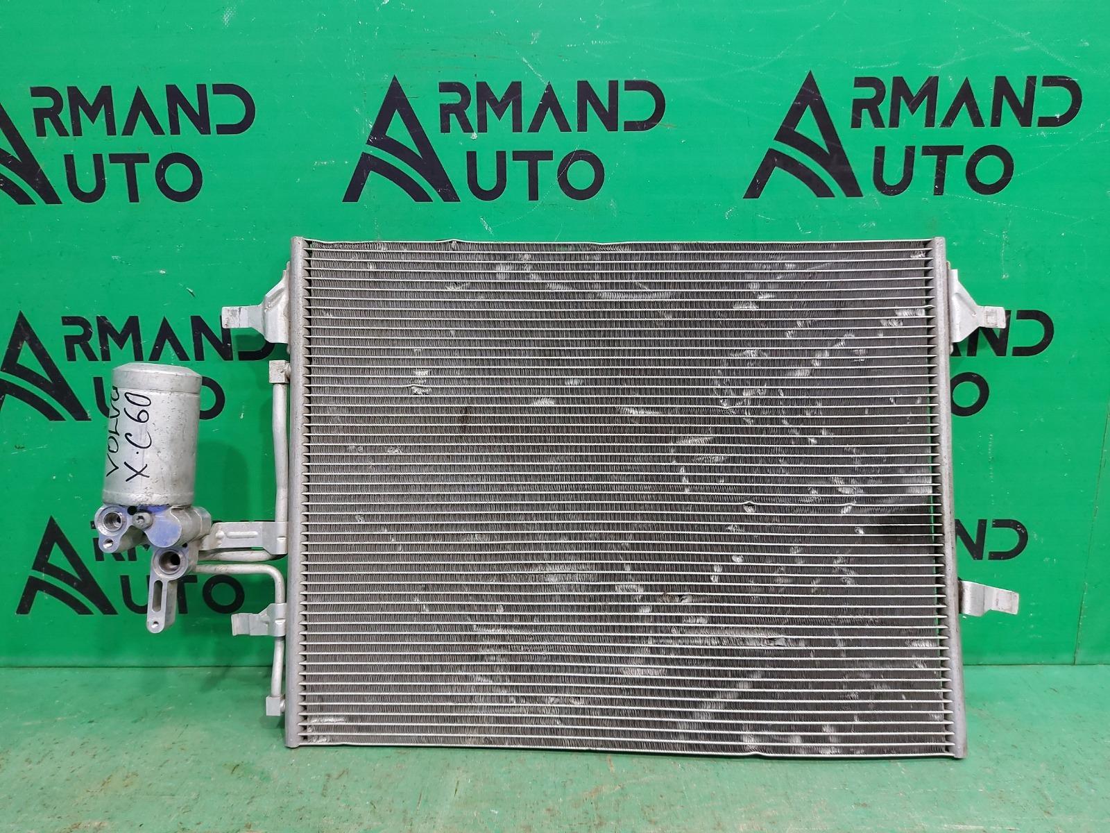 Радиатор кондиционера Volvo Xc60 1 2008 (б/у)