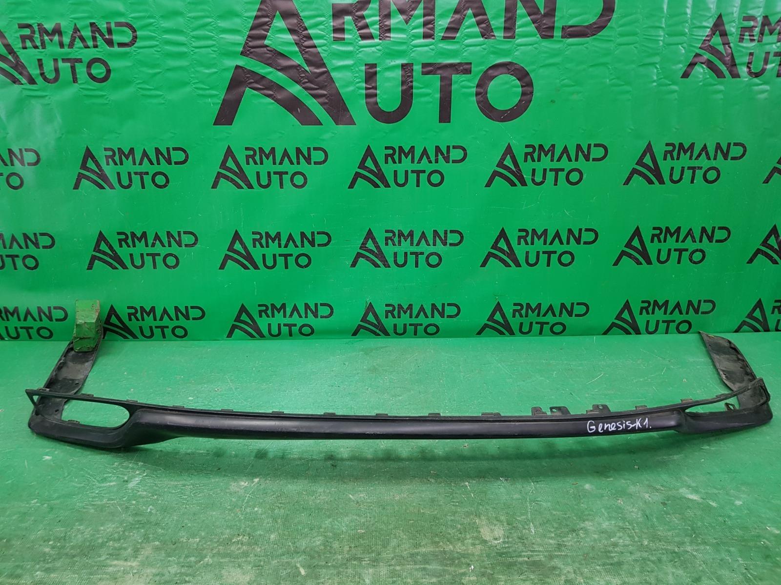 Юбка бампера Hyundai Genesis 2 2013 передняя (б/у)