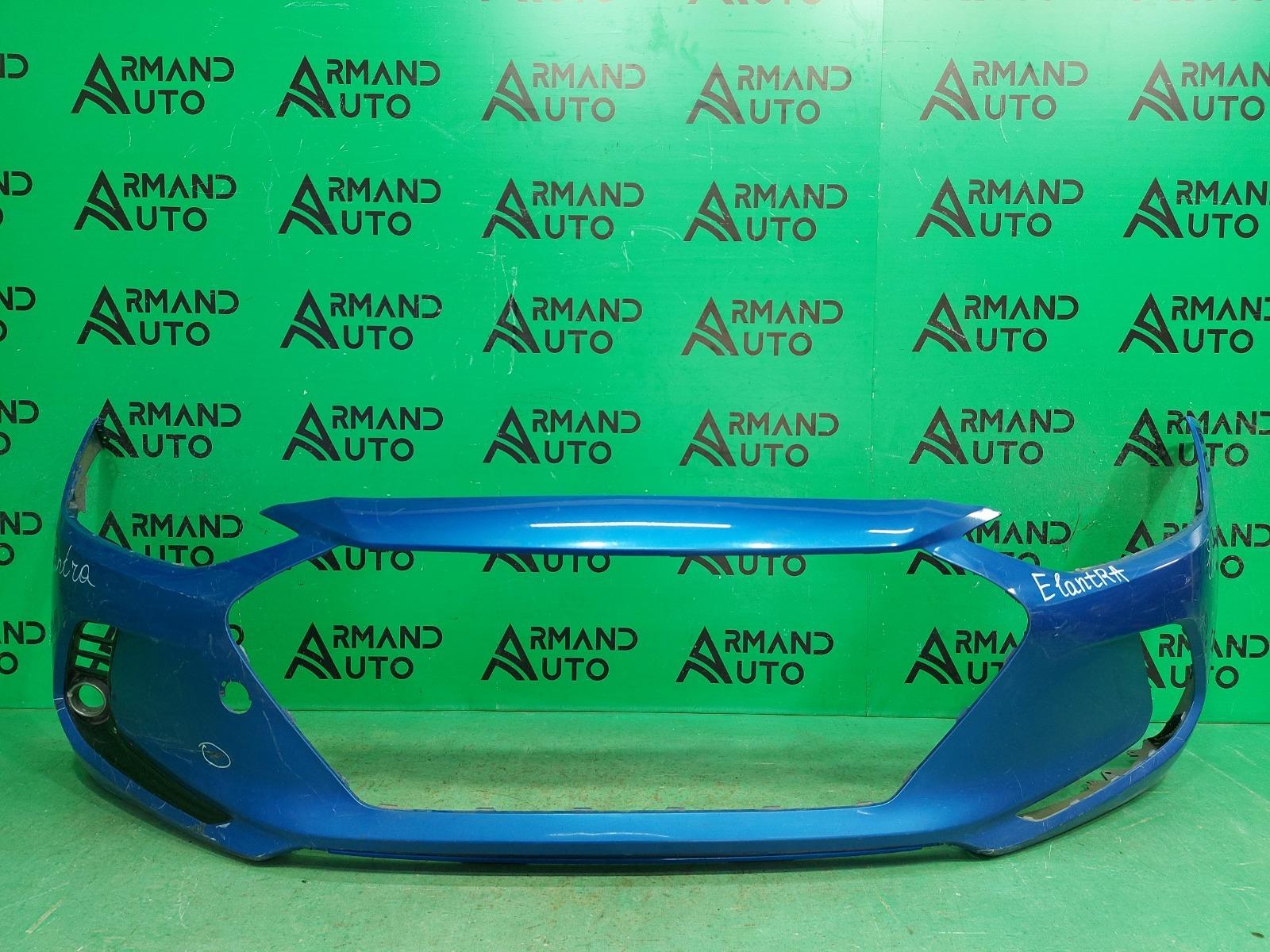 Бампер Hyundai Elantra 6 2015 передний (б/у)