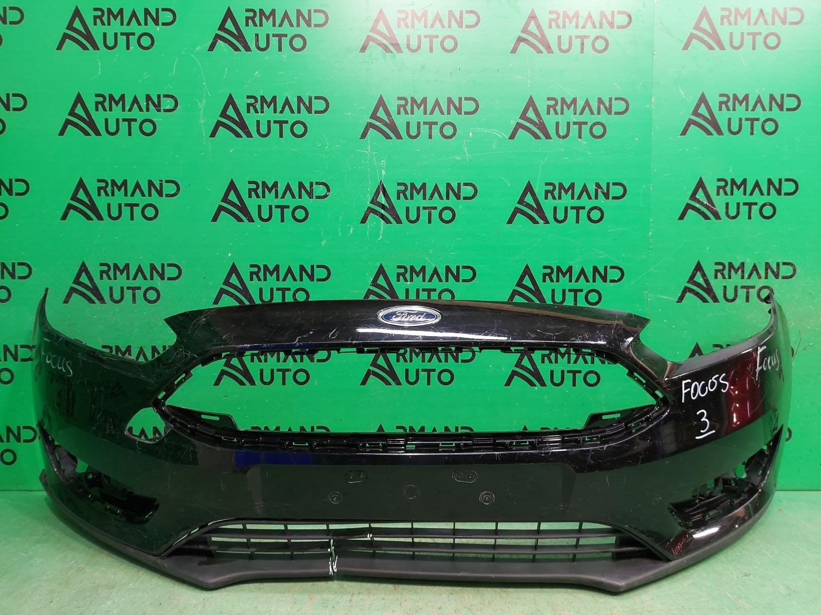 Бампер Ford Focus 3 РЕСТАЙЛИНГ 2014 передний (б/у)