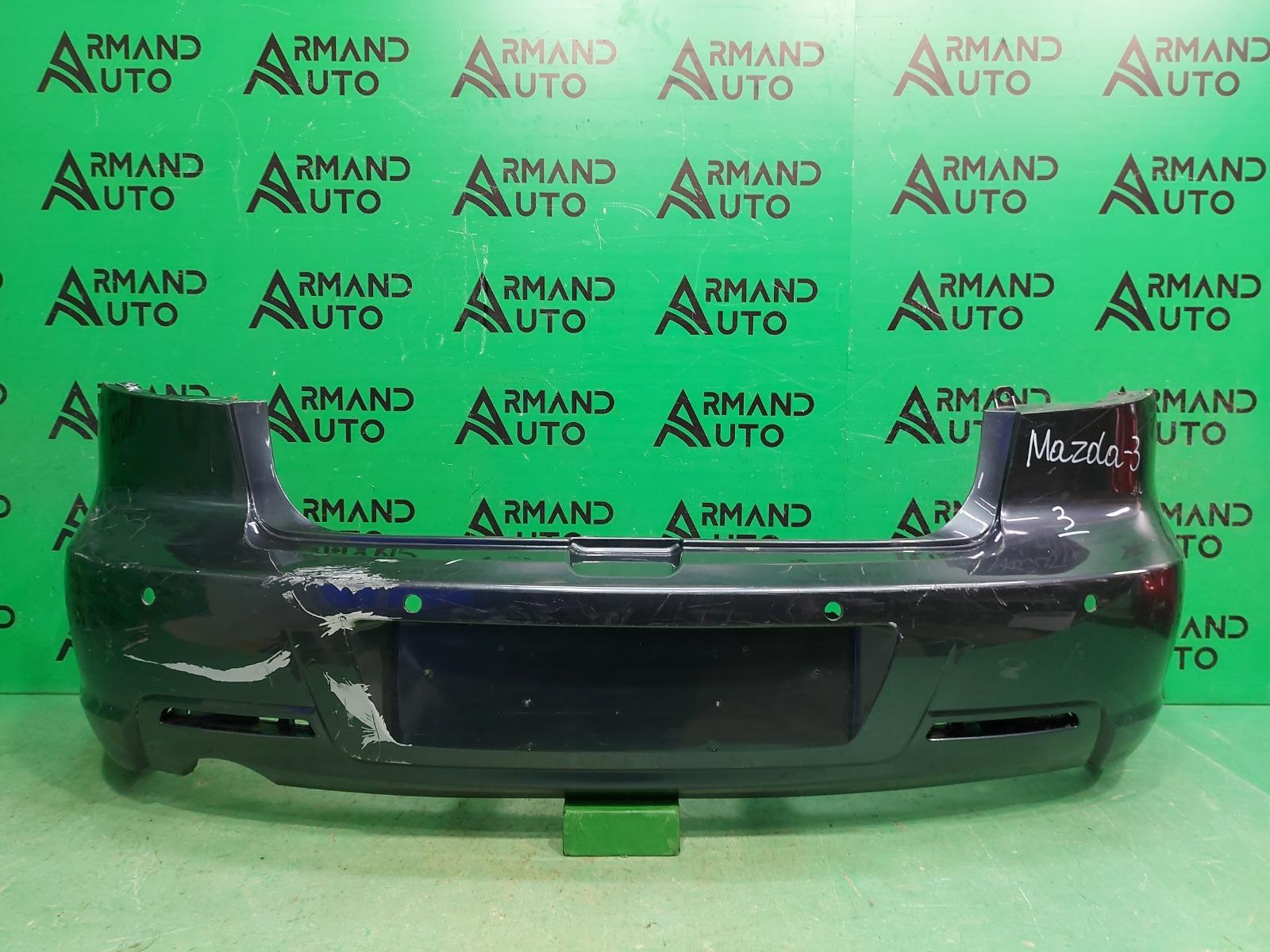 Бампер Mazda 3 BK 2003 задний (б/у)