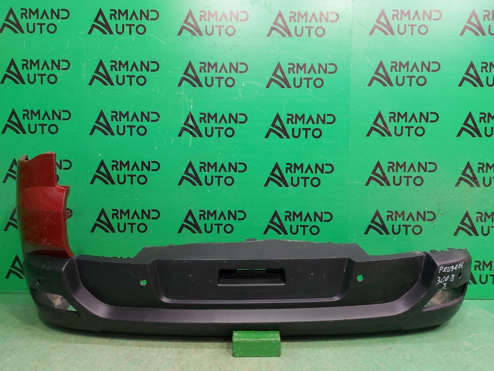 Бампер Peugeot 3008 1 2009 задний (б/у)
