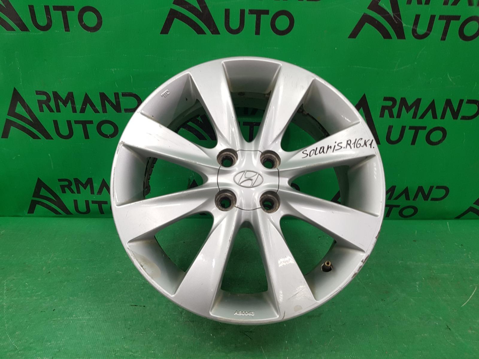 Диск r16 Hyundai Accent 4 2010 (б/у)