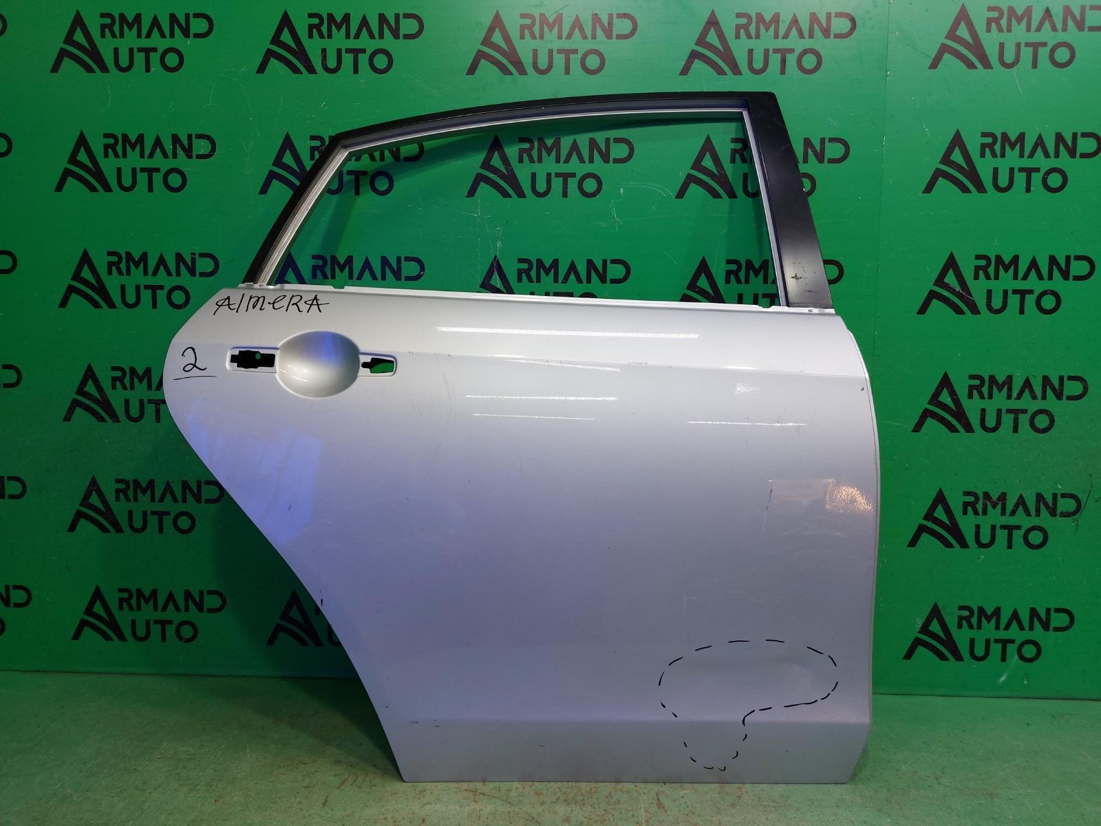 Дверь Nissan Almera G15 2013 задняя правая (б/у)
