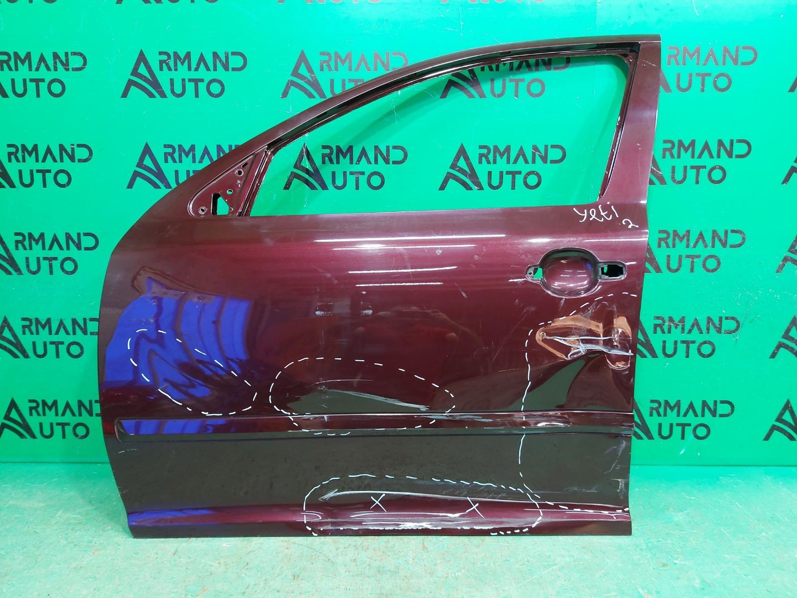 Дверь Skoda Octavia A5 2004 передняя левая (б/у)