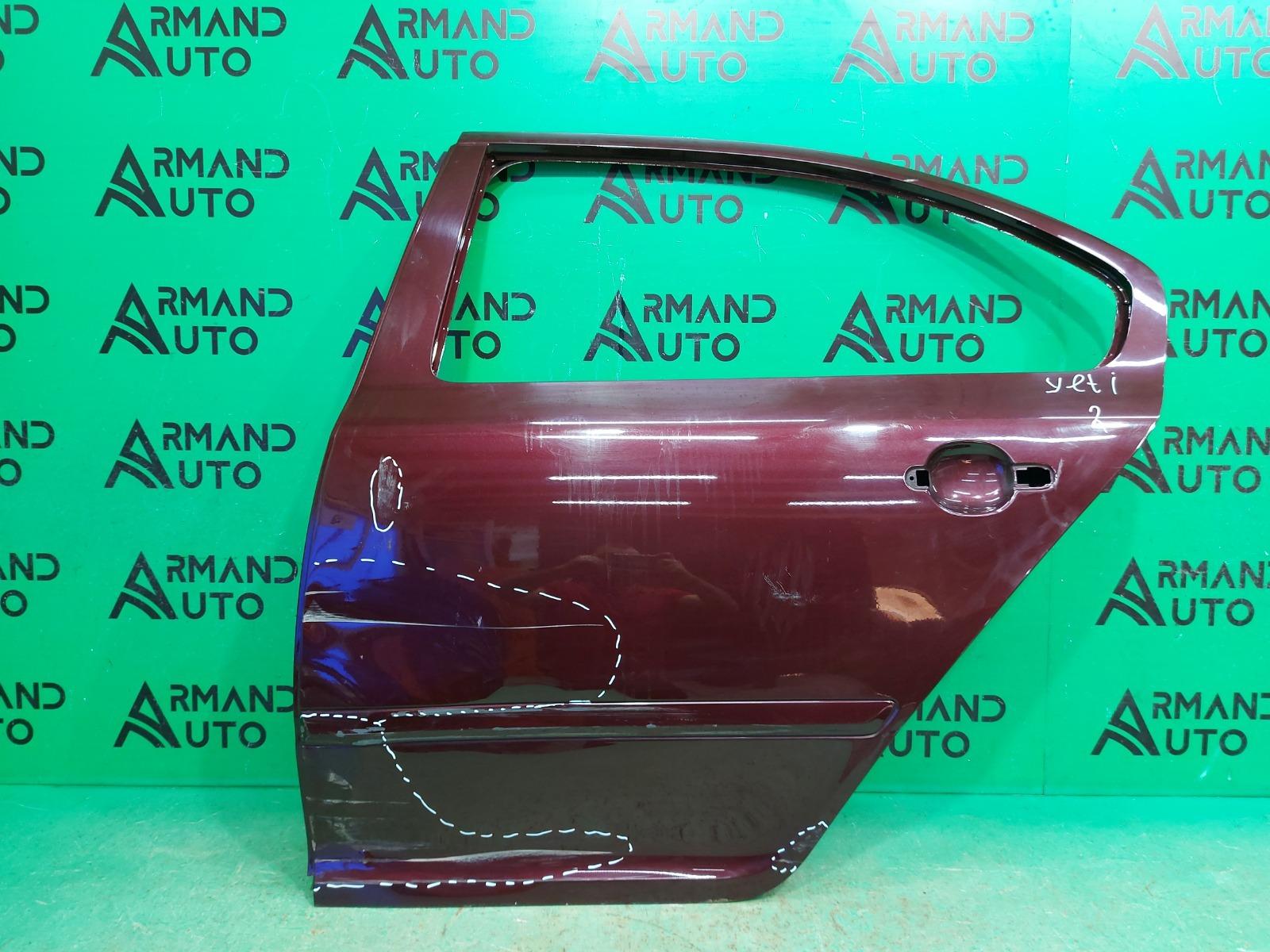 Дверь Skoda Octavia A5 2004 задняя левая (б/у)