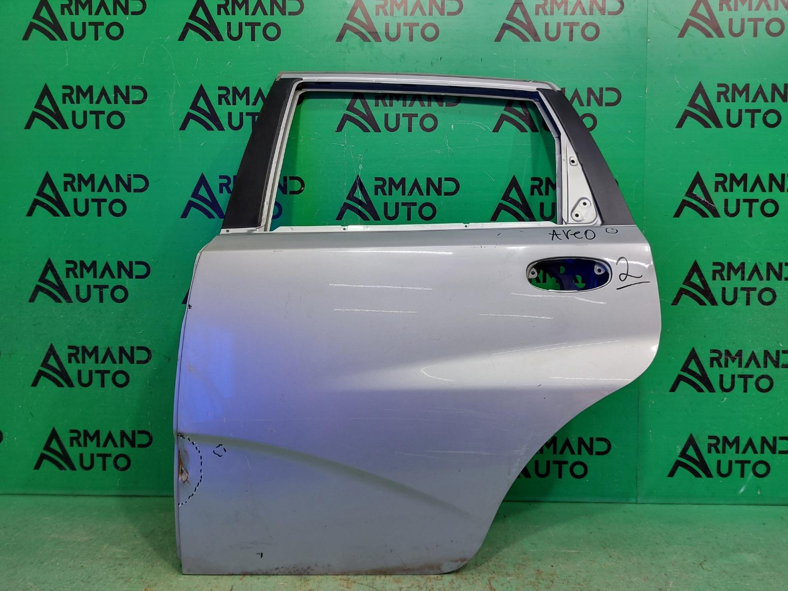 Дверь Chevrolet Aveo T200 2003 задняя левая (б/у)