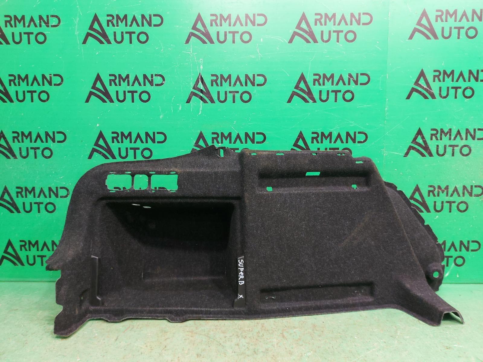 Обшивка багажника Skoda Superb 3 2015 левая (б/у)