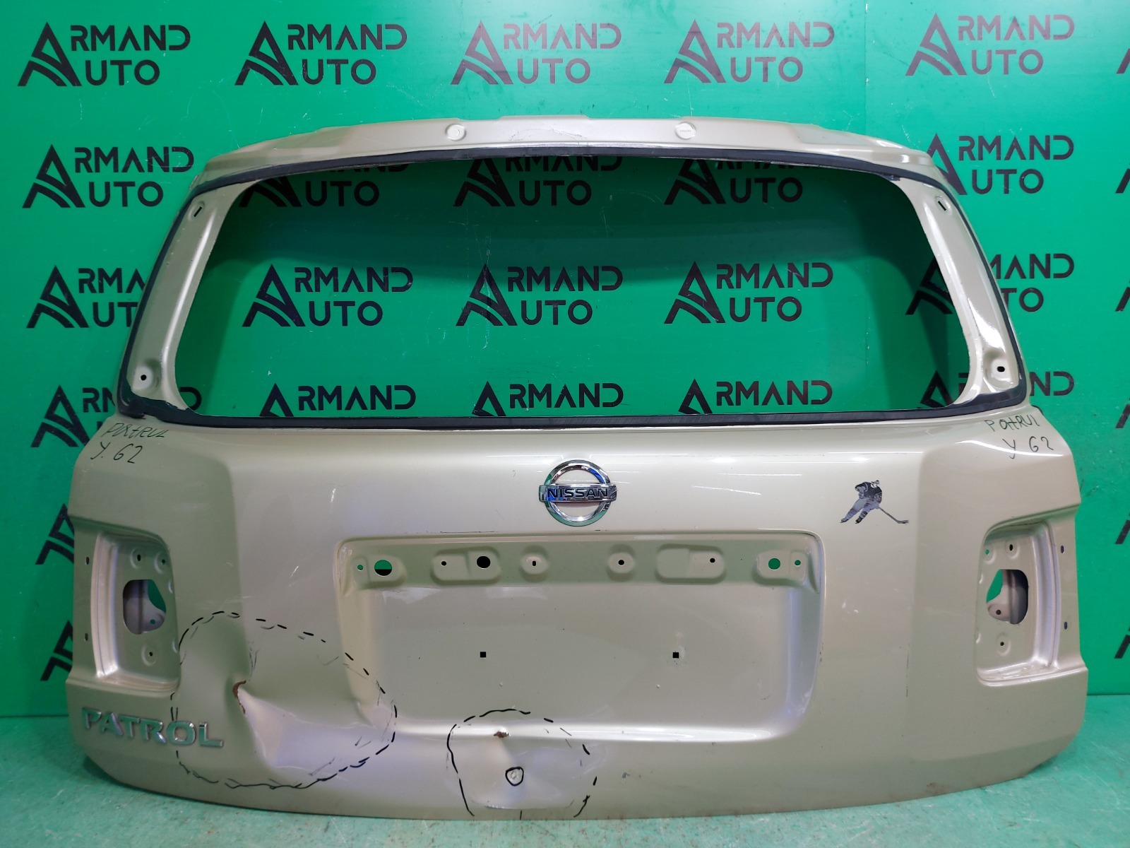 Дверь багажника Nissan Patrol Y62 2010 (б/у)