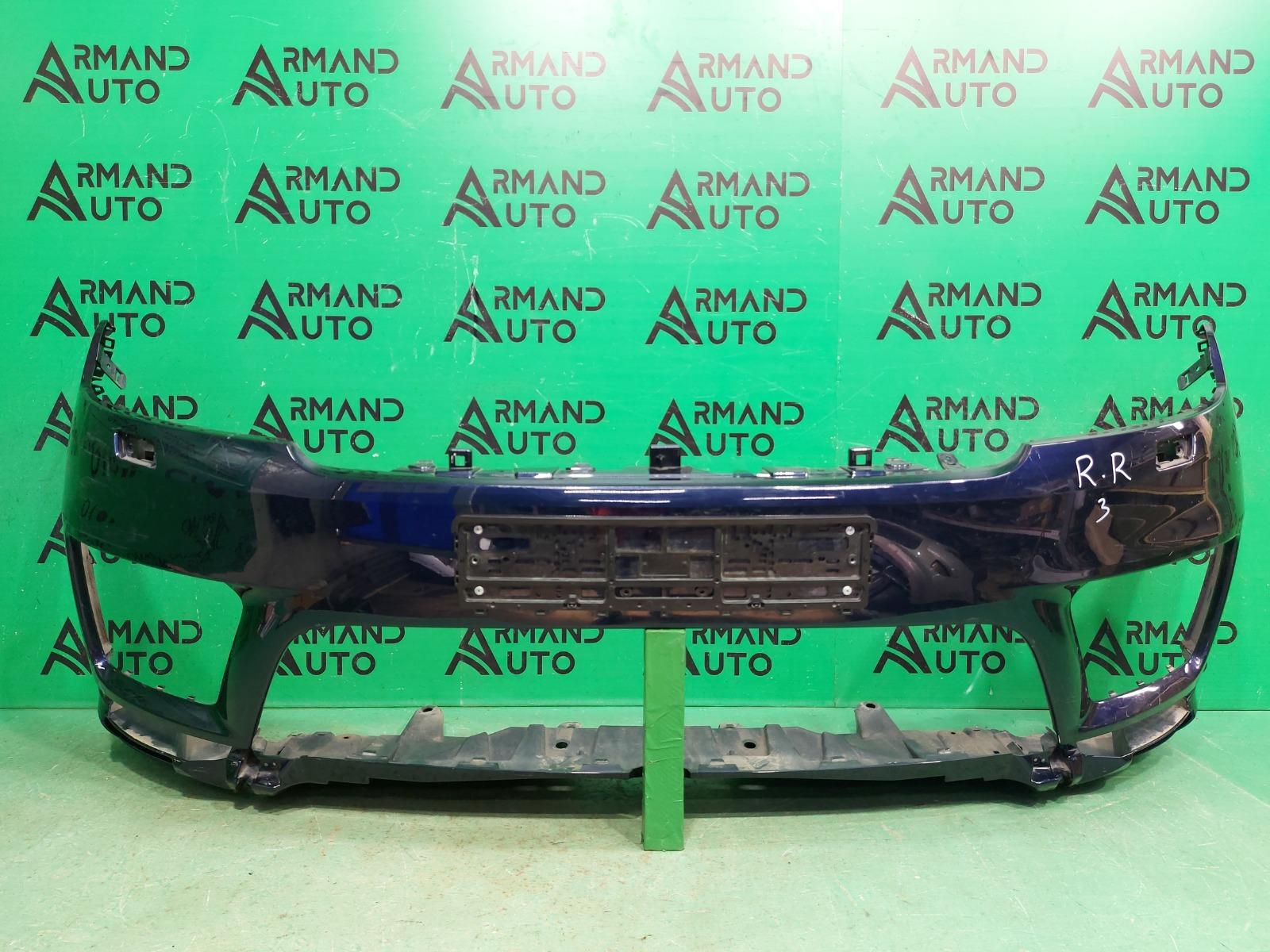Бампер Land Rover Range Rover Sport 2 РЕСТАЙЛИНГ 2017 передний (б/у)