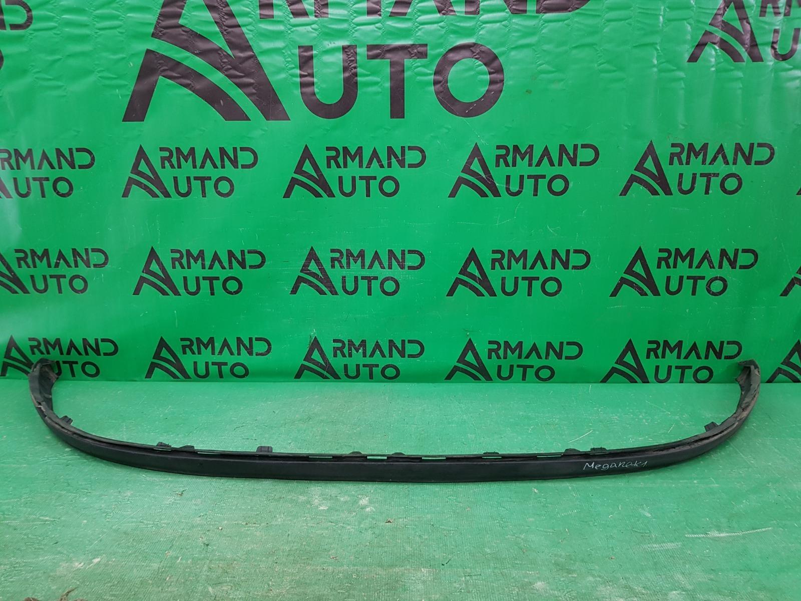 Юбка бампера Renault Megane 3 2008 передняя (б/у)