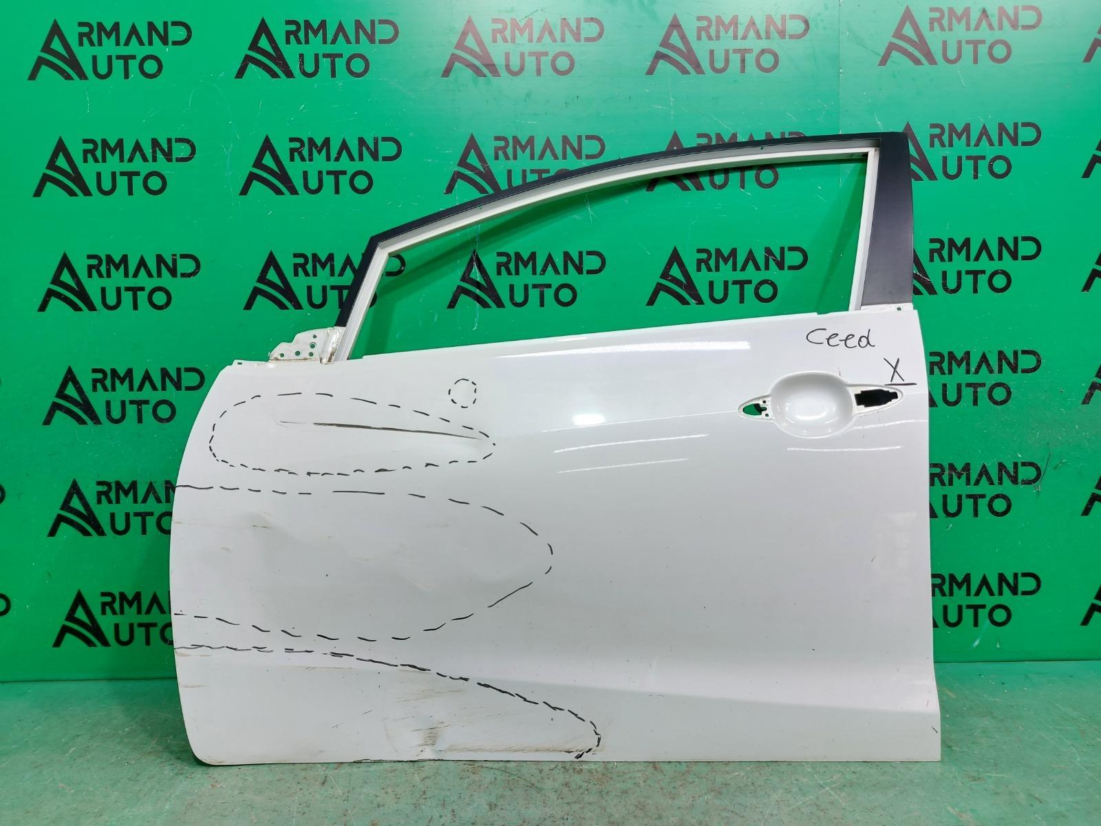 Дверь Kia Cerato 3 2013 передняя левая (б/у)