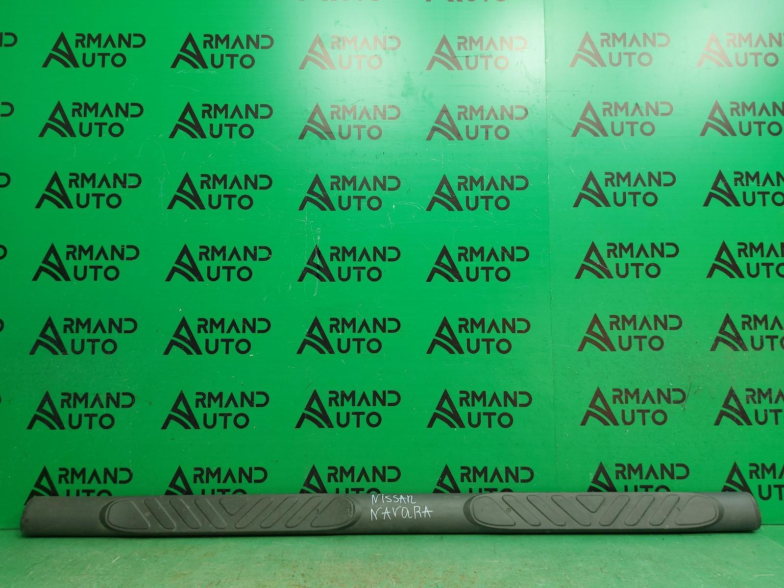 Подножка Nissan Navara D40 2004 левая (б/у)