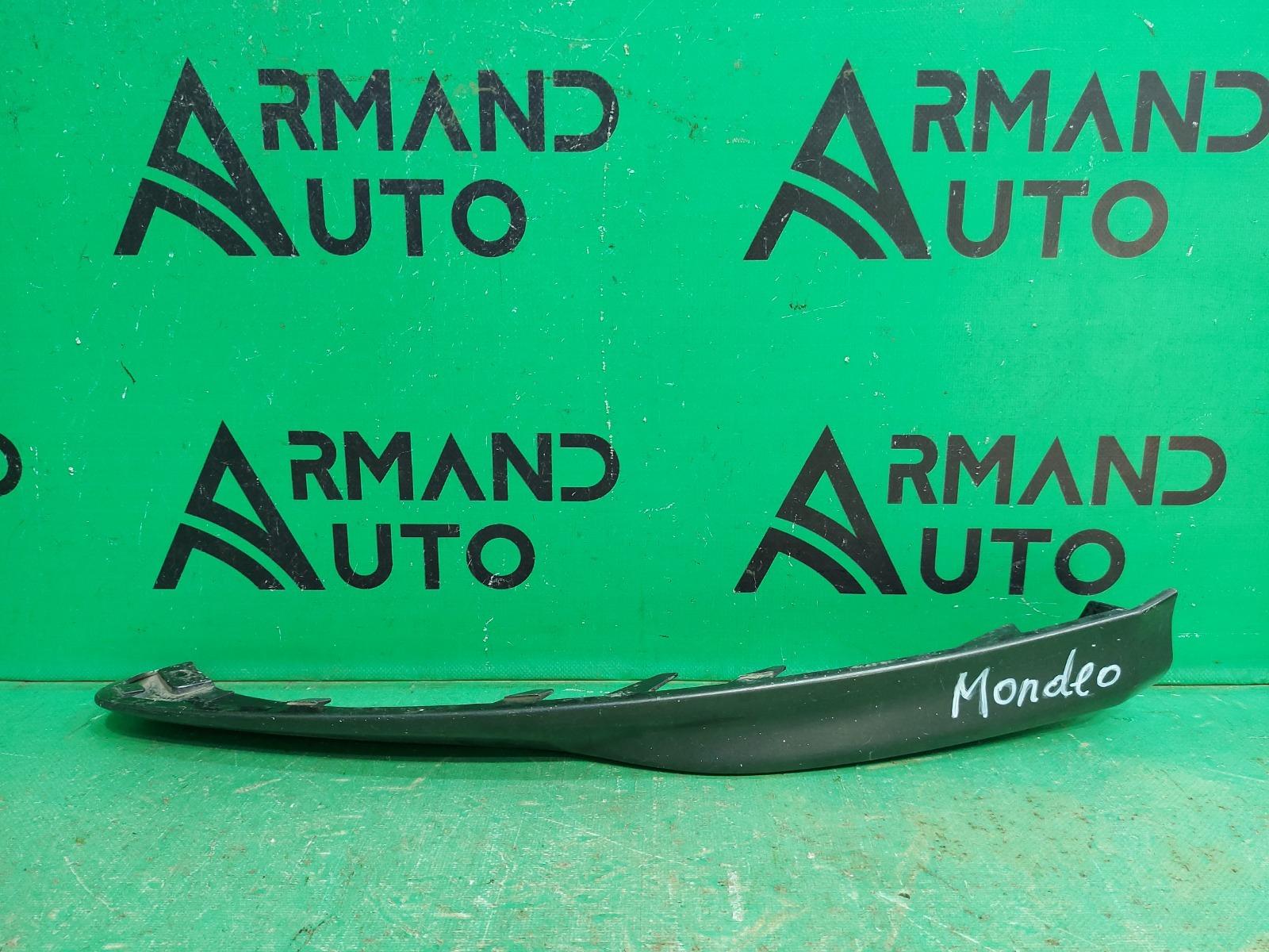 Накладка бампера Ford Mondeo 5 2014 передняя левая (б/у)