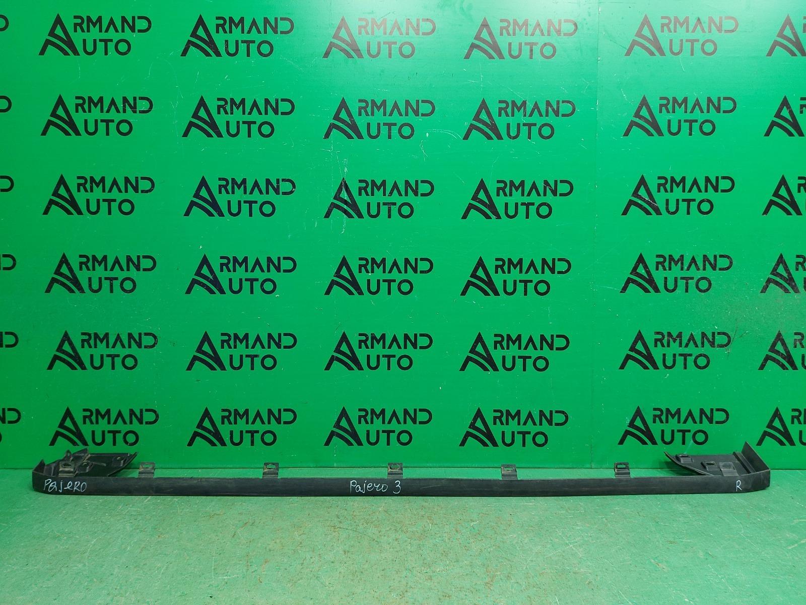 Накладка подножки Mitsubishi Pajero Sport 3 2015 правая (б/у)