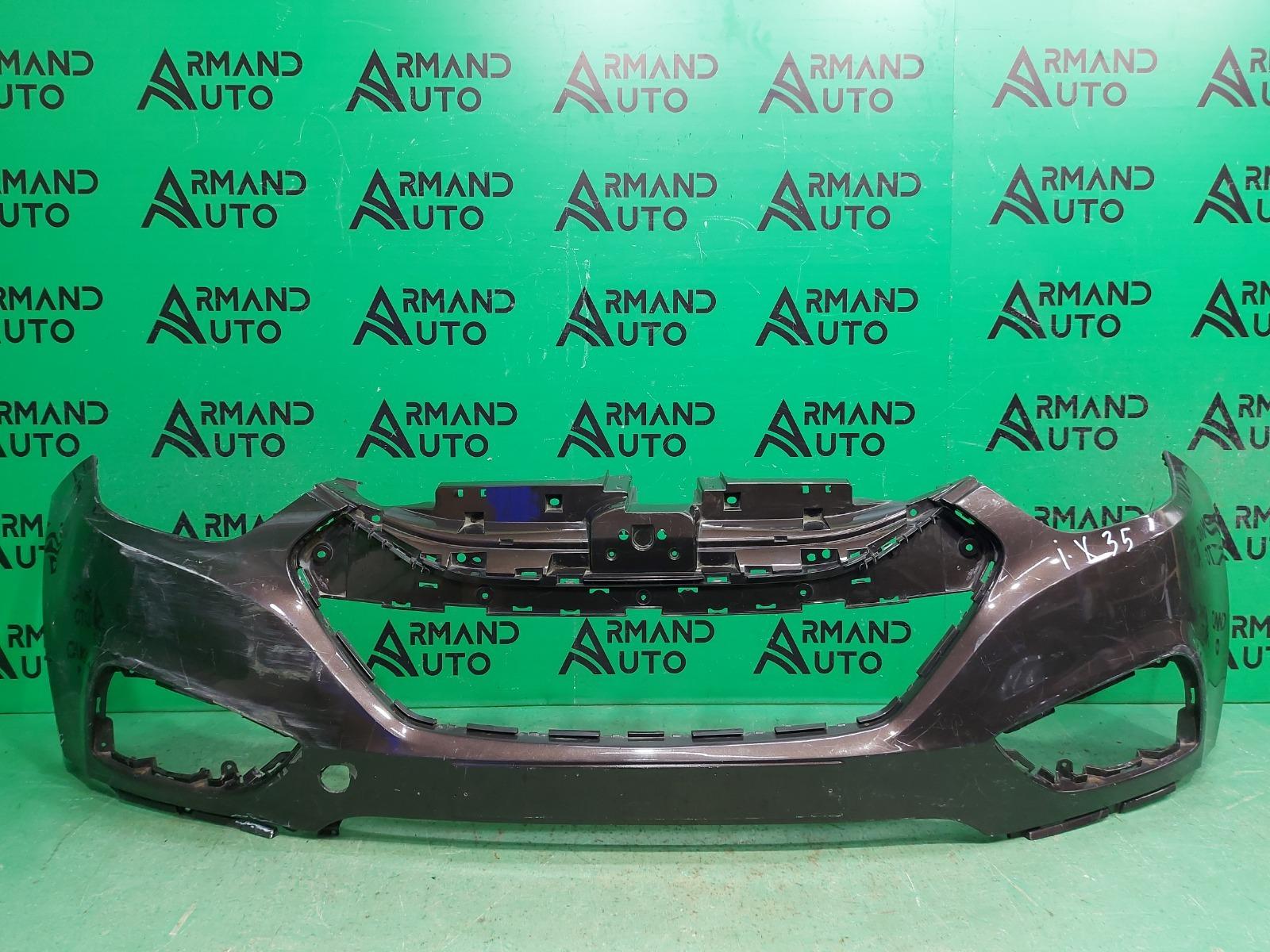 Бампер Hyundai Ix35 1 2010 передний (б/у)