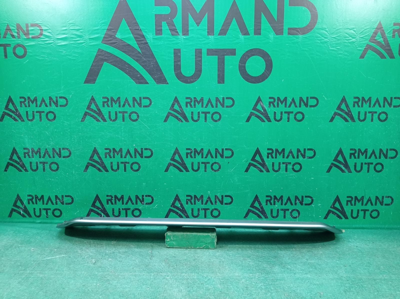Накладка бампера Audi Q7 2 4M 2015 передняя нижняя (б/у)
