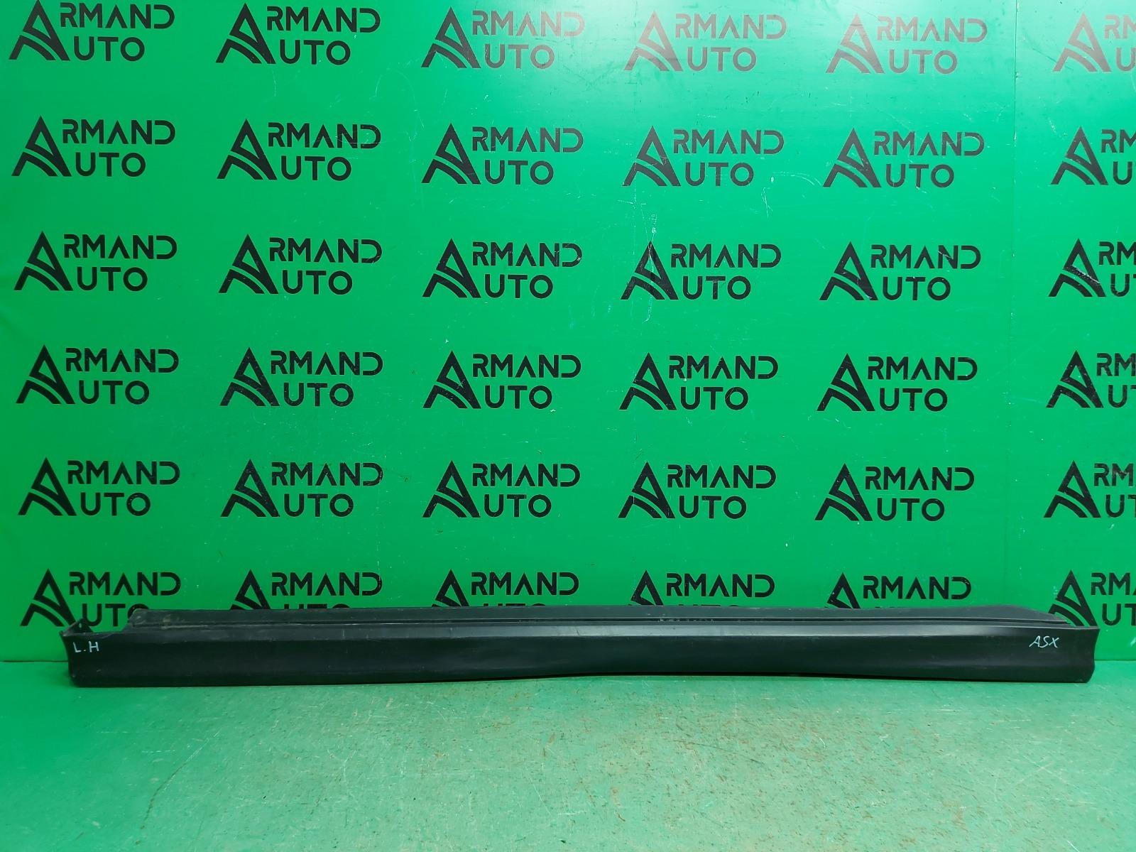 Накладка порога Mitsubishi Asx 1 2010 левая (б/у)