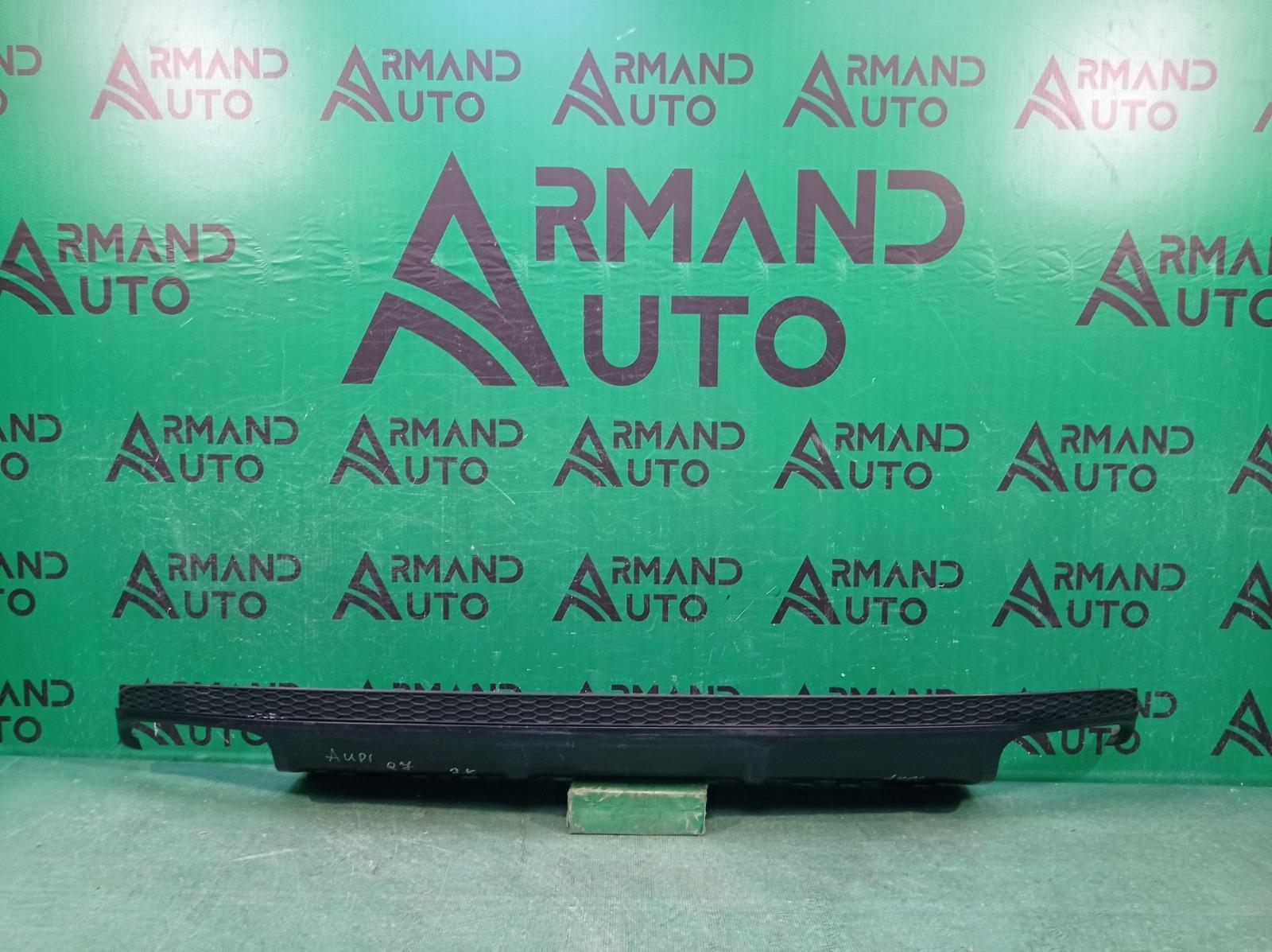Юбка бампера Audi Q7 2 4M 2015 задняя (б/у)