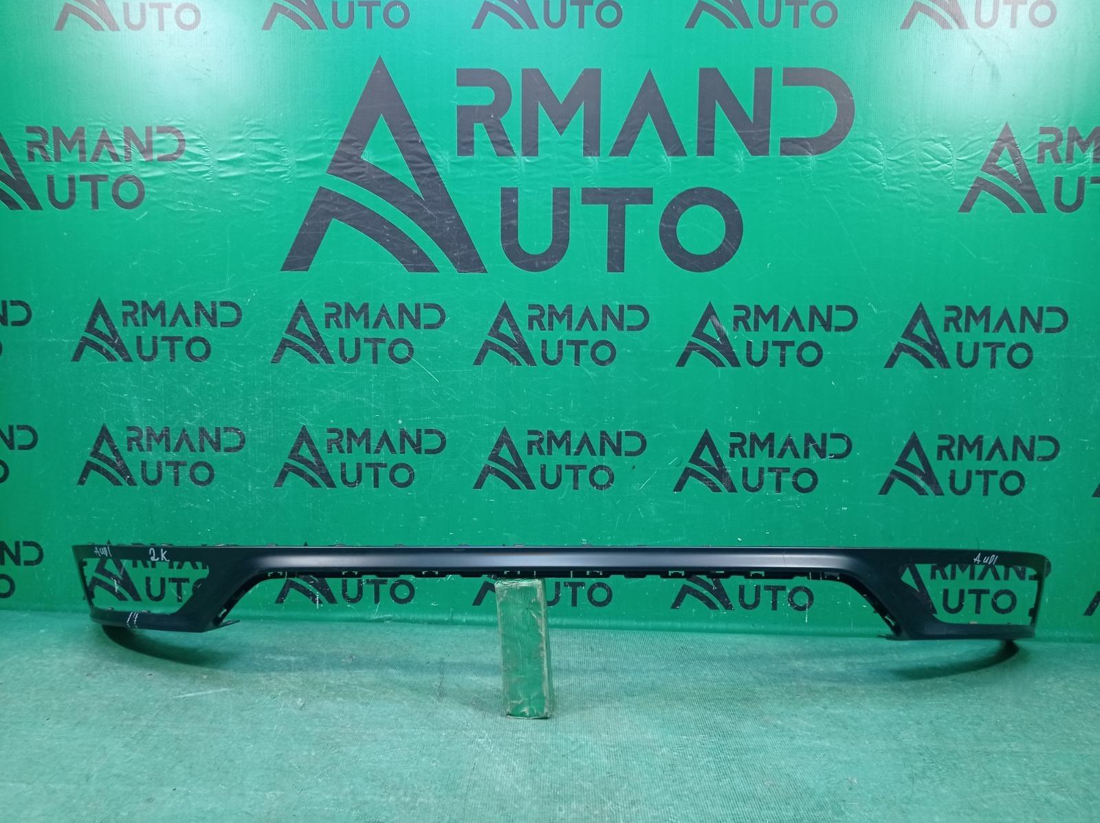 Накладка бампера Audi Q8 1 2018 задняя (б/у)