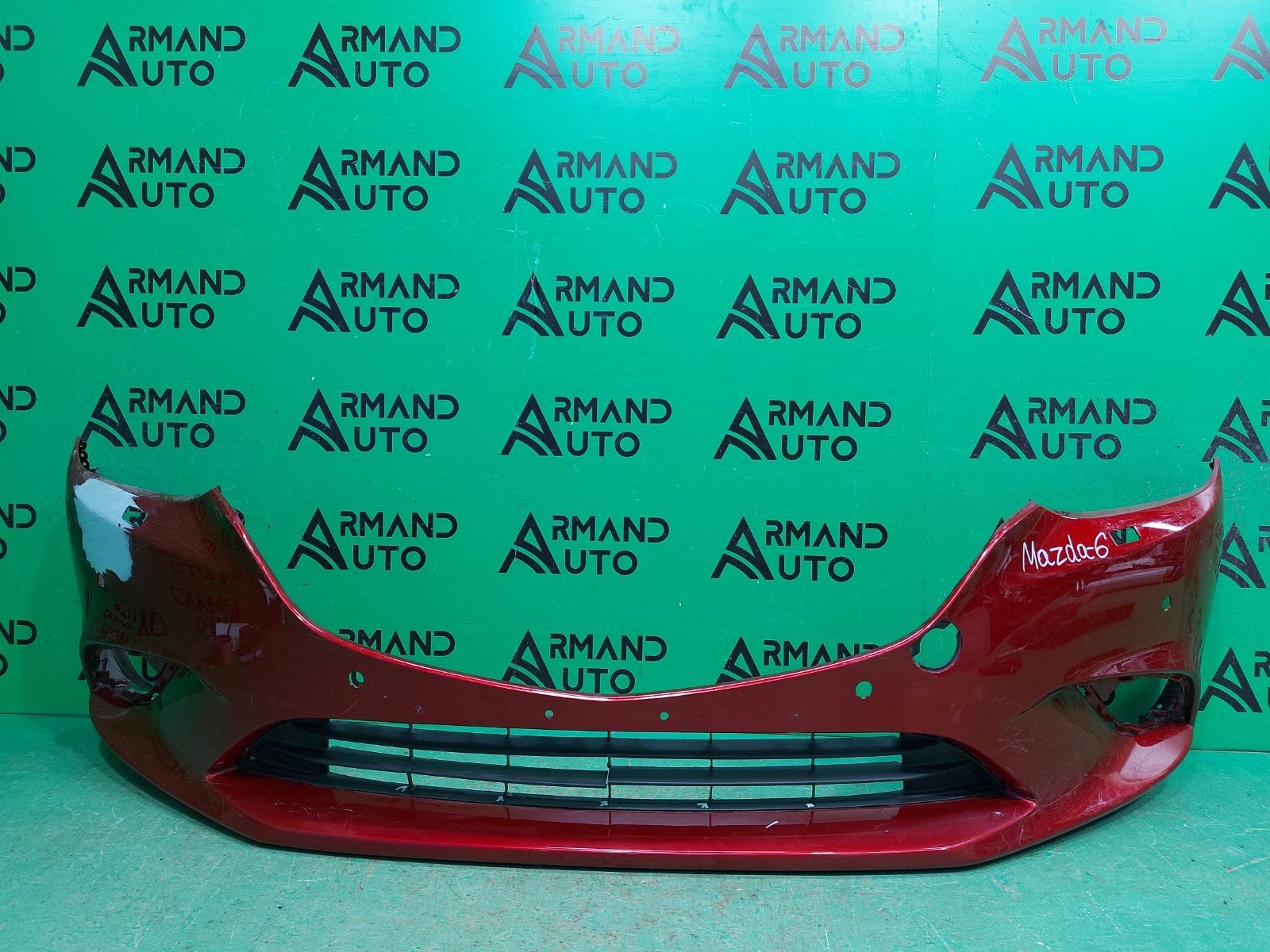 Бампер Mazda 6 GJ РЕСТАЙЛИНГ 2015 передний (б/у)