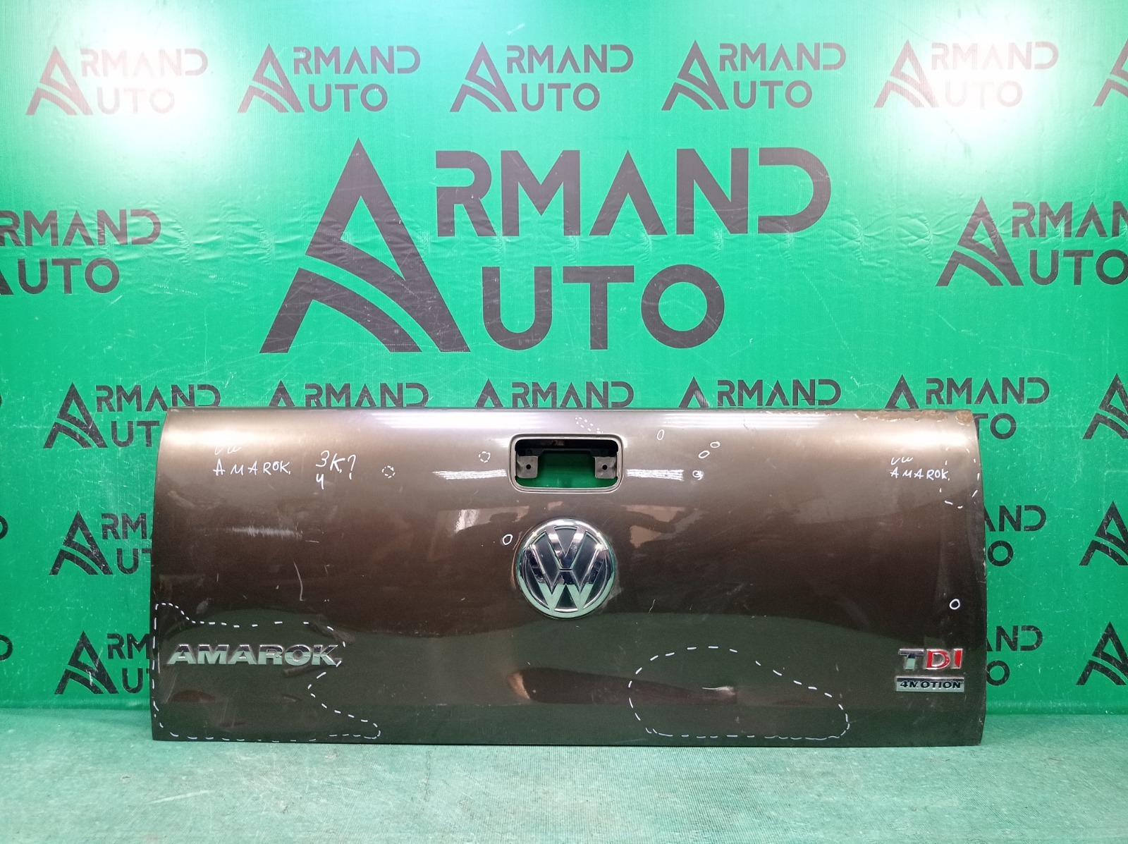 Борт откидной Volkswagen Amarok 2 HA 2010 задний нижний (б/у)