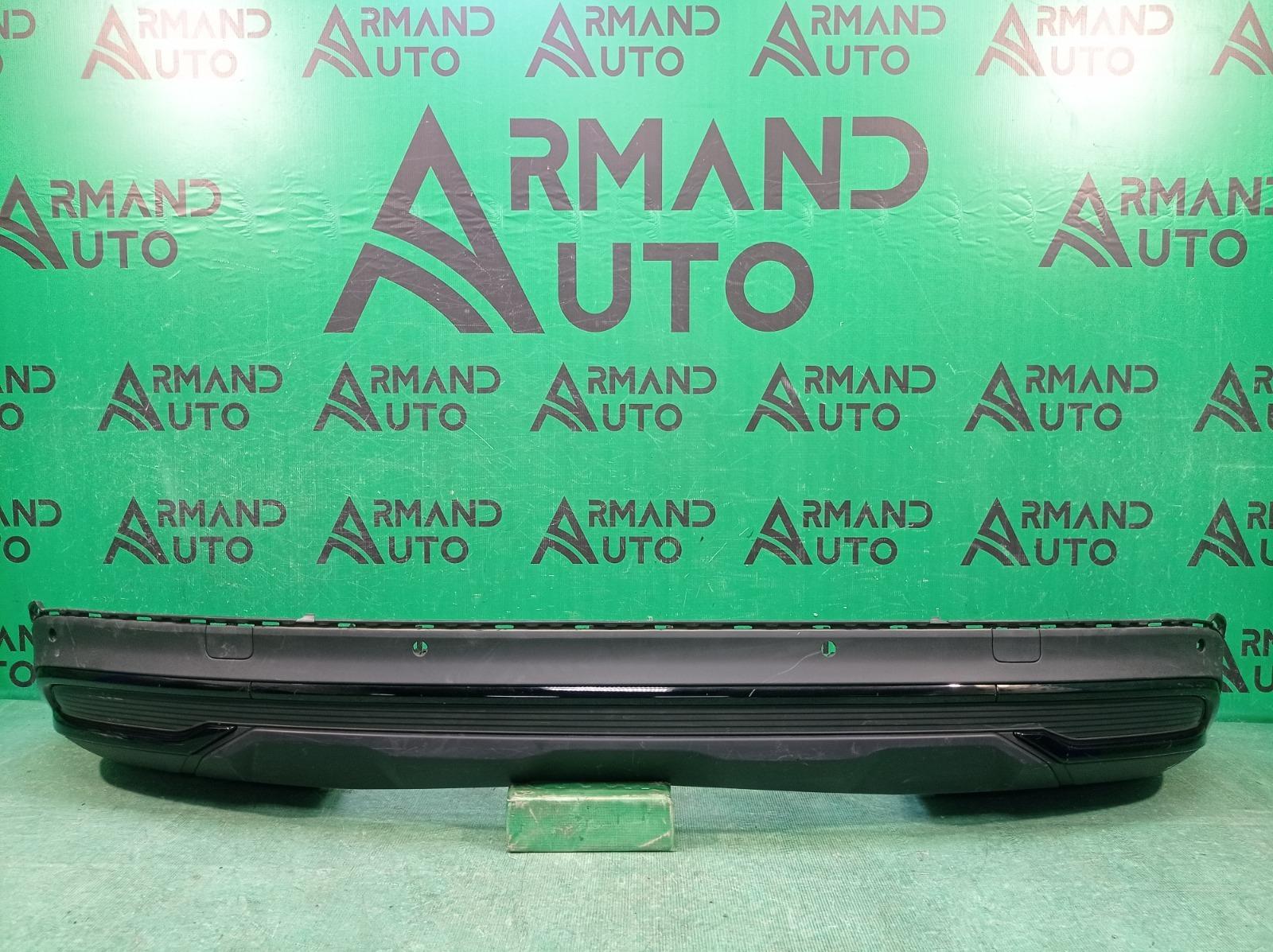 Юбка бампера Audi Q7 2 4M 2019 задняя (б/у)