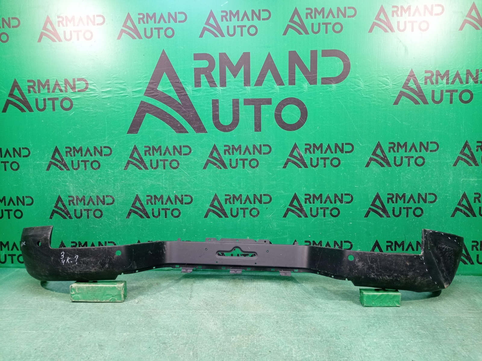 Бампер Volkswagen Amarok 2 HA 2010 задний (б/у)