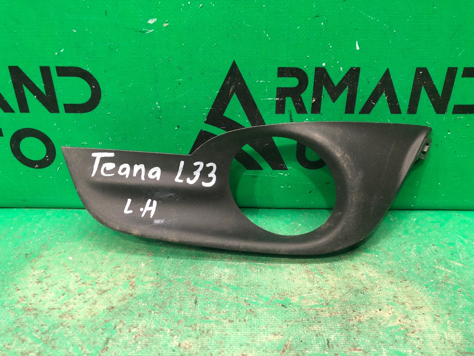 Накладка птф Nissan Teana L33 2014 левая (б/у)