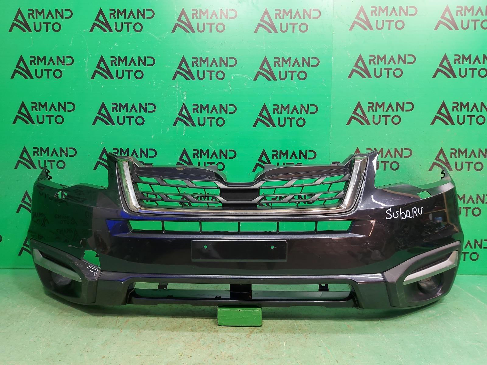 Бампер Subaru Forester SJ РЕСТАЙЛИНГ 2 2016 передний (б/у)