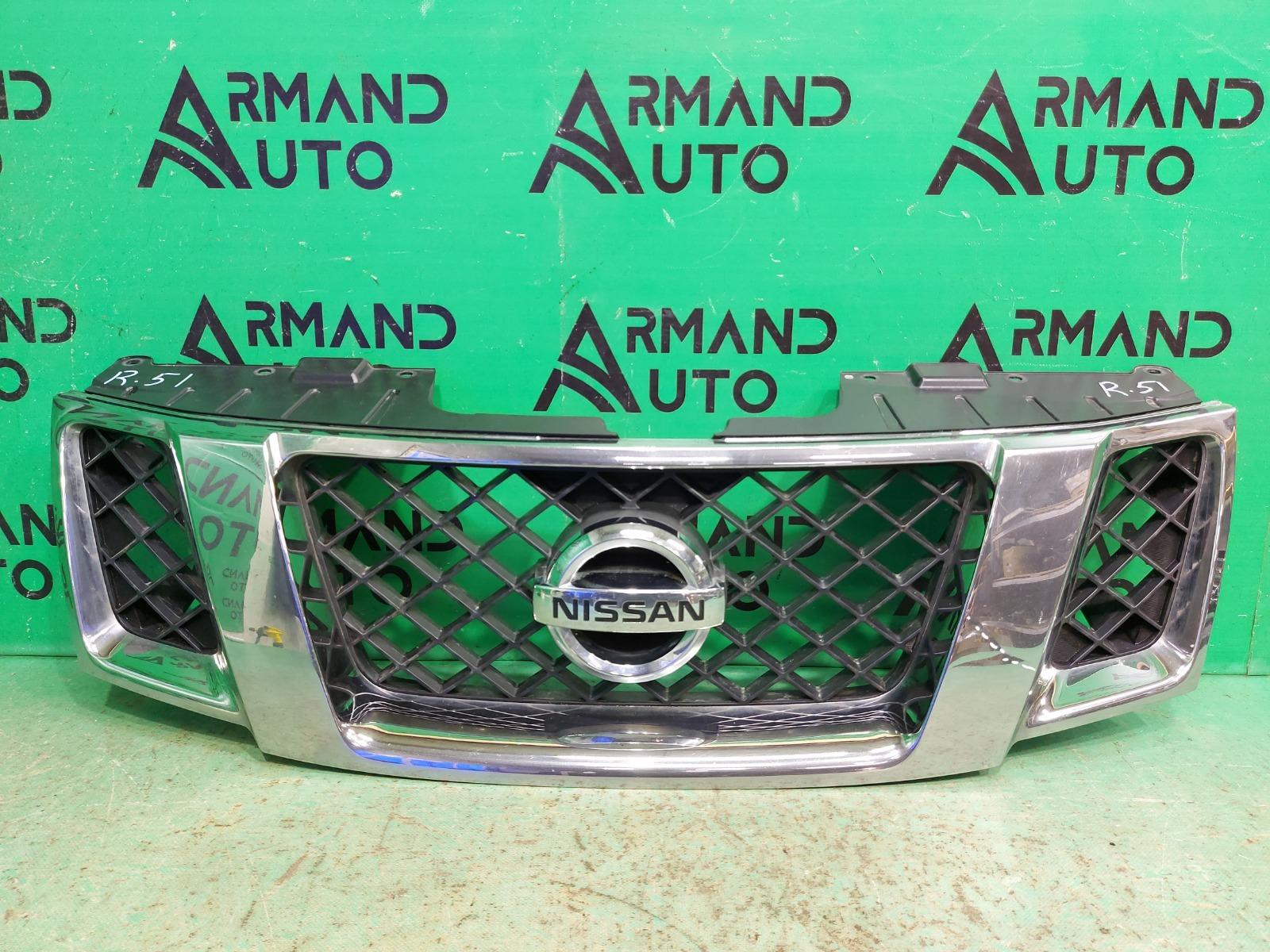 Решетка радиатора Nissan Pathfinder R51 РЕСТАЙЛИНГ 2010 (б/у)