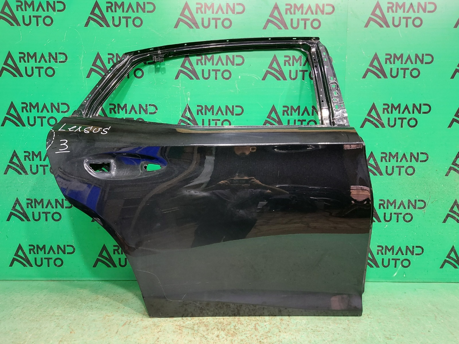 Дверь Lexus Ls 5 2017 задняя правая (б/у)