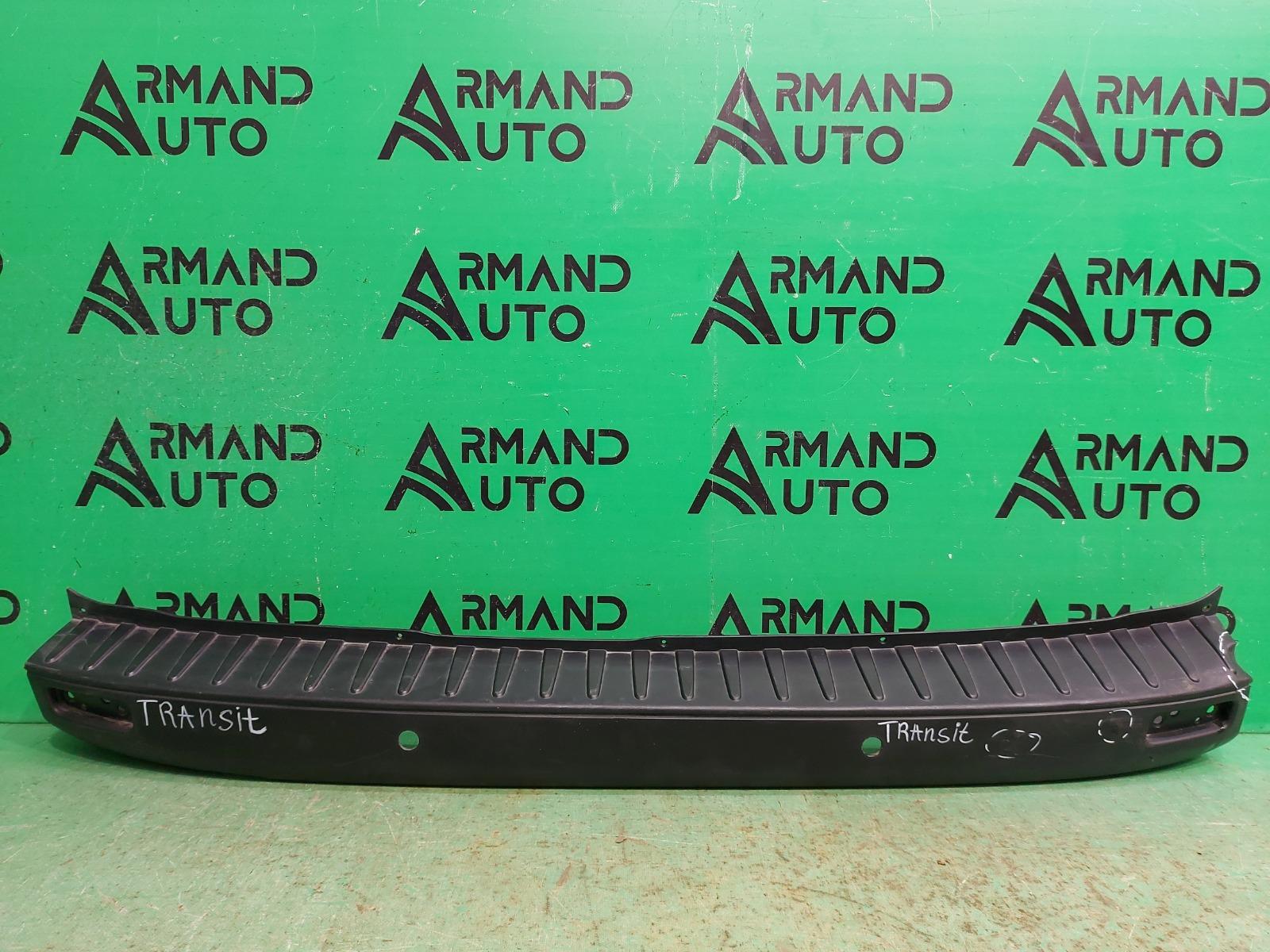 Накладка бампера Ford Tourneo Custom 2012 задняя (б/у)