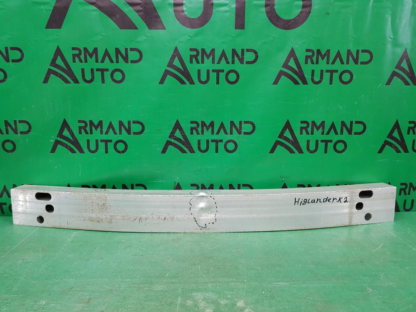 Усилитель бампера Toyota Highlander 2 2007 передний (б/у)