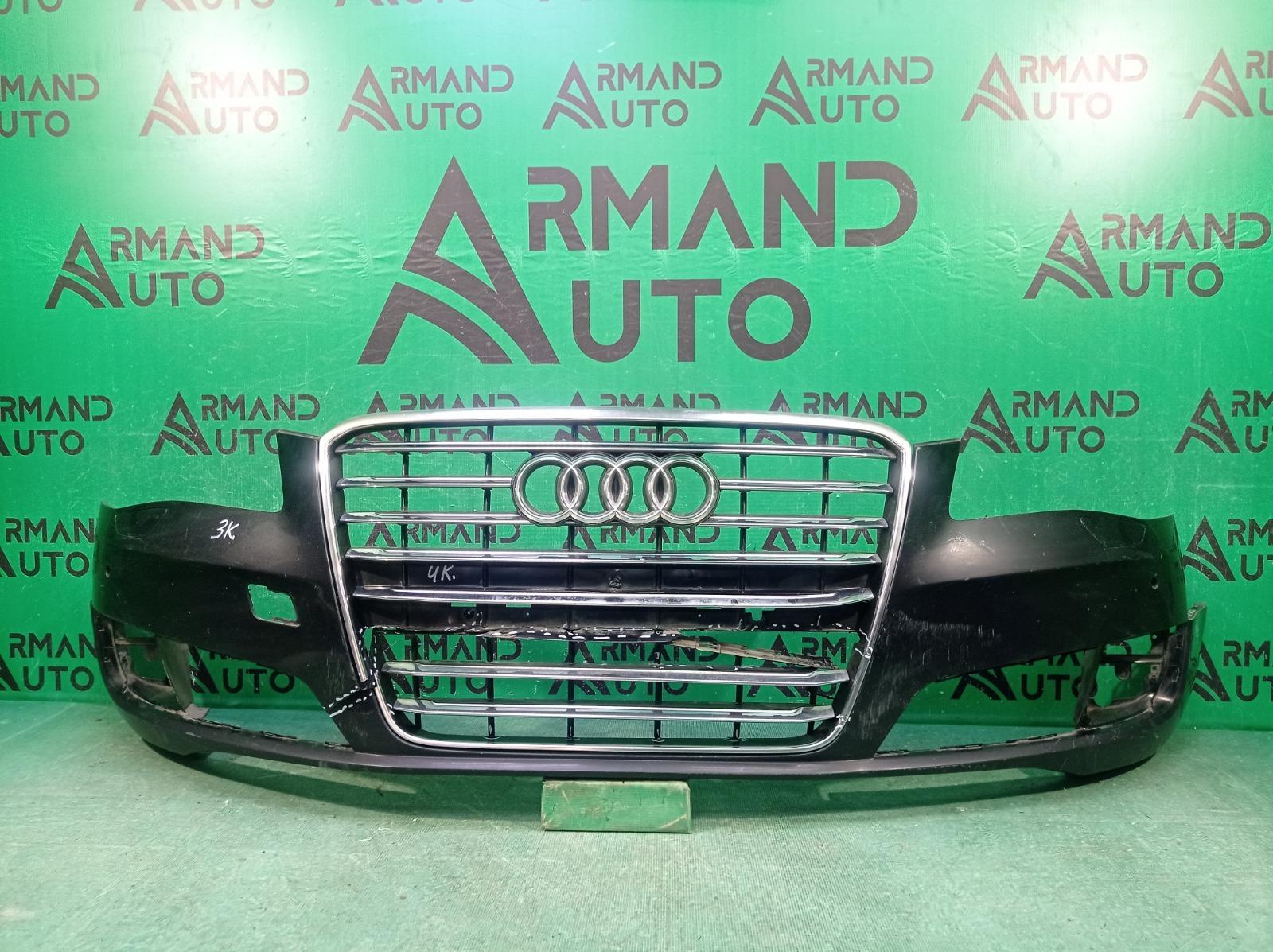 Бампер Audi A8 3 D4 2013 передний (б/у)