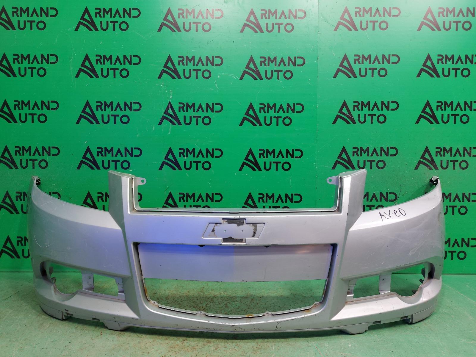 Бампер Chevrolet Aveo T250 2006 передний (б/у)