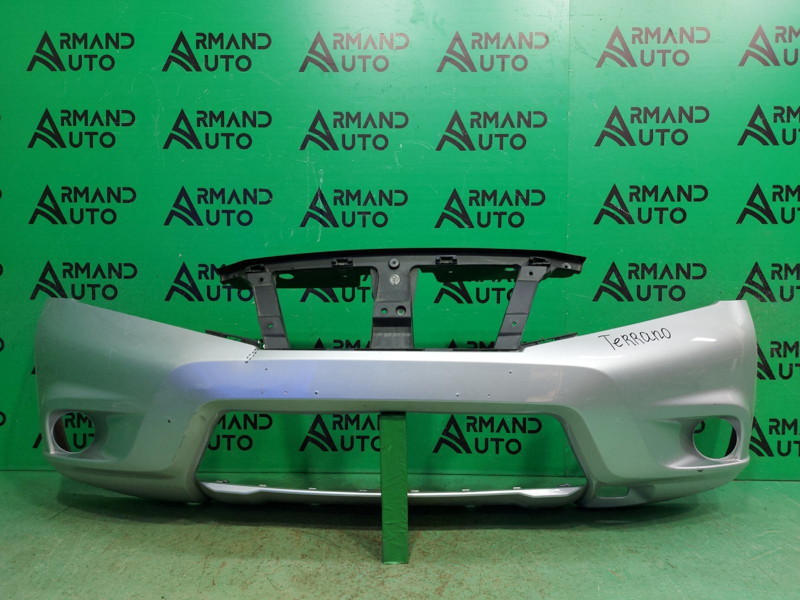 Бампер Nissan Terrano 3 2014 передний (б/у)
