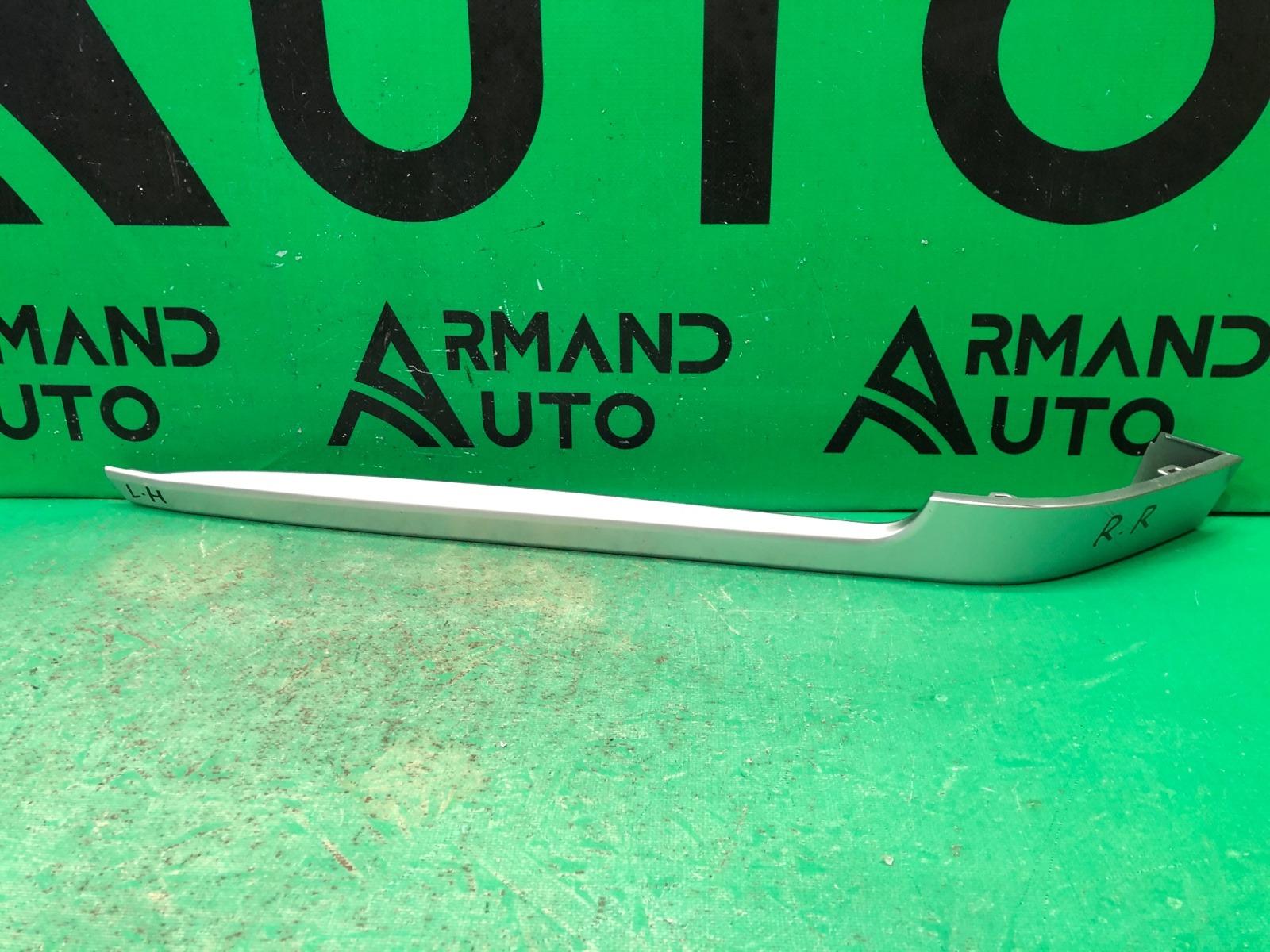 Накладка бампера Land Rover Range Rover Vogue 4 2013 задняя левая (б/у)