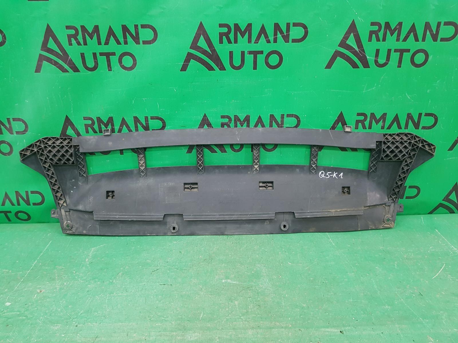 Защита бампера Audi Q5 8R РЕСТАЙЛИНГ 2012 передняя (б/у)