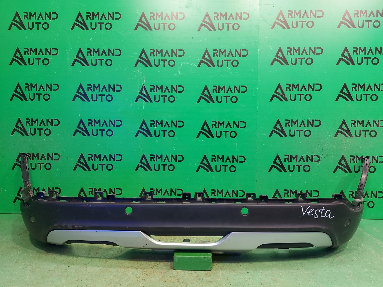 Юбка бампера Lada Vesta Cross 1 2015 задняя (б/у)