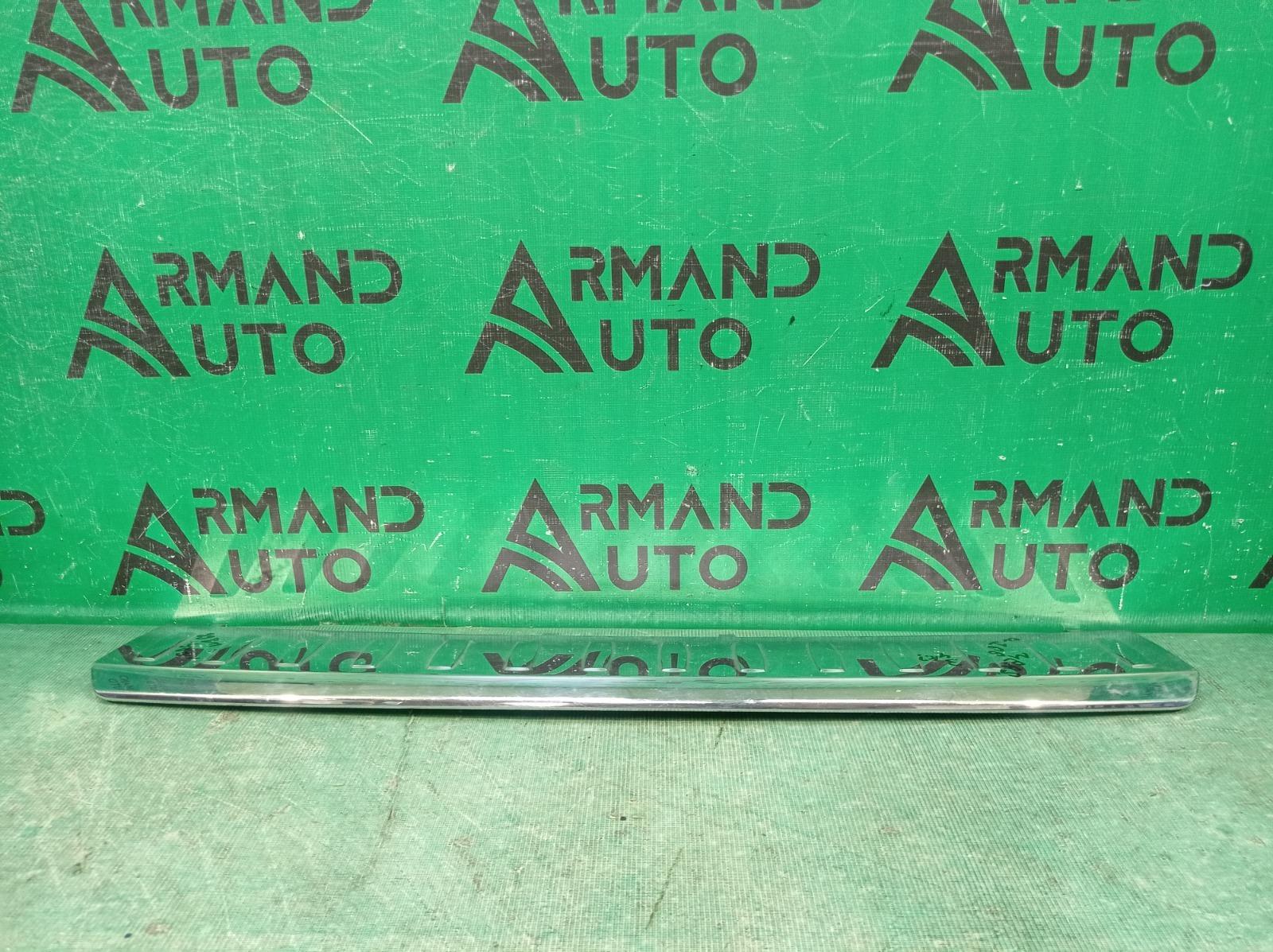 Накладка бампера Mercedes M Ml Gle-Class W166 2011 задняя верхняя (б/у)